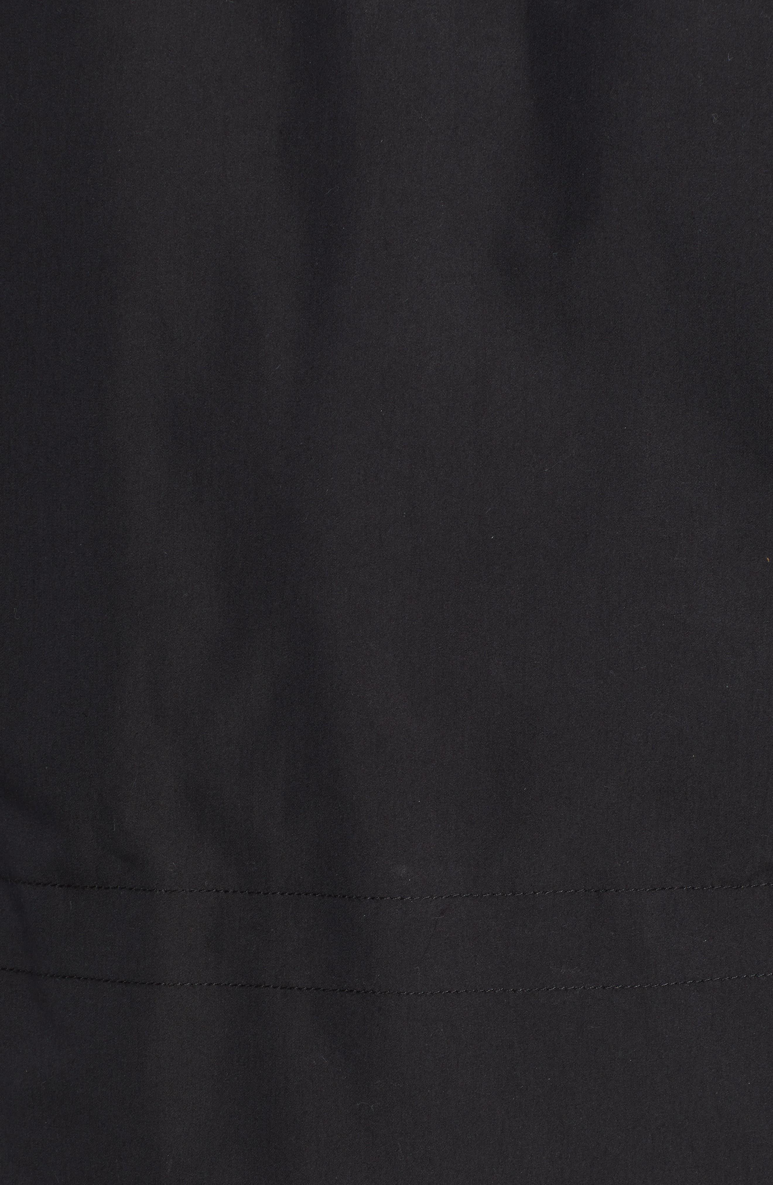 Regular Fit Surplus Down Jacket,                             Alternate thumbnail 7, color,                             BLACK