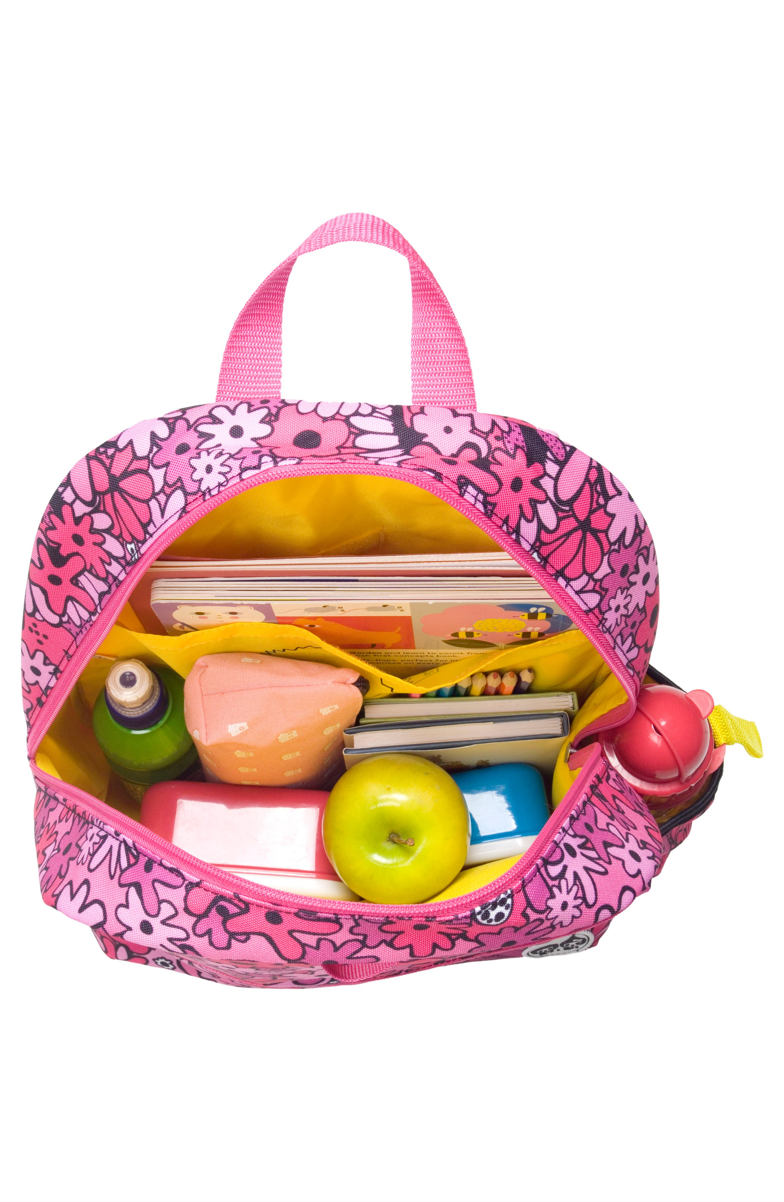 BABYMEL,                             Zip & Zoe Floral Junior Backpack,                             Alternate thumbnail 5, color,                             650