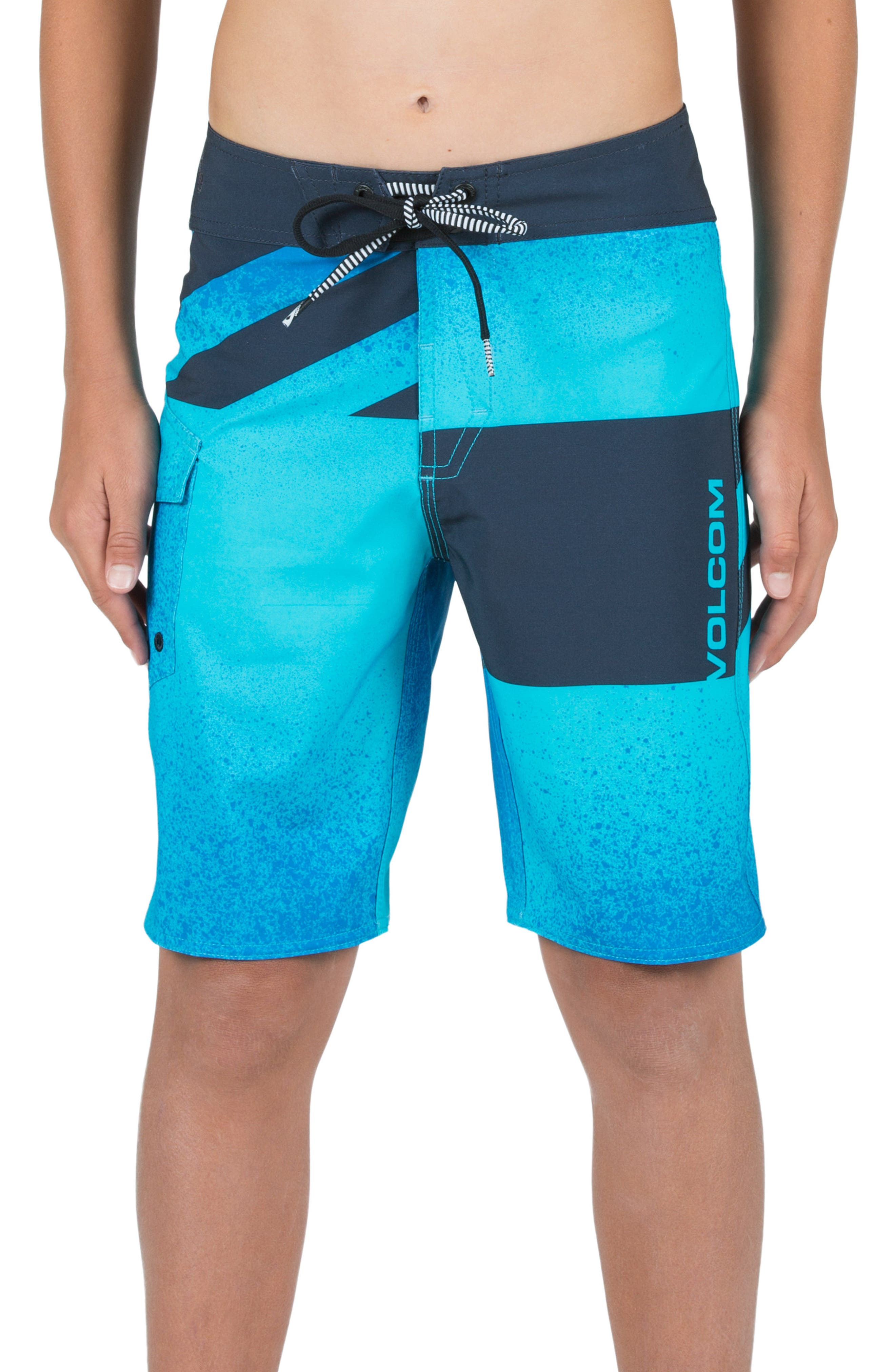 Logo Party Pack Mod Board Shorts,                             Alternate thumbnail 5, color,                             432