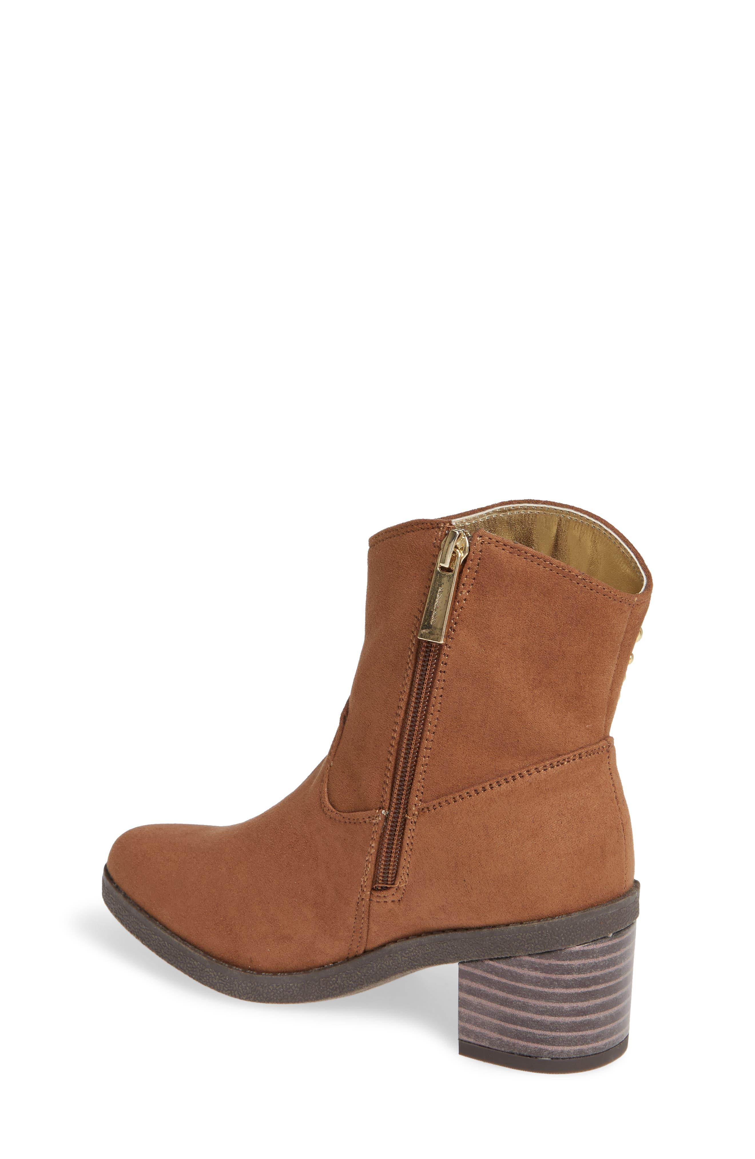 Fawn Desert Studded Boot,                             Alternate thumbnail 2, color,                             CARAMEL