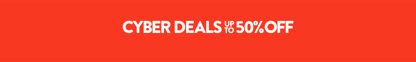 Cyber Deals on now! Up to 50% off hundreds of items.