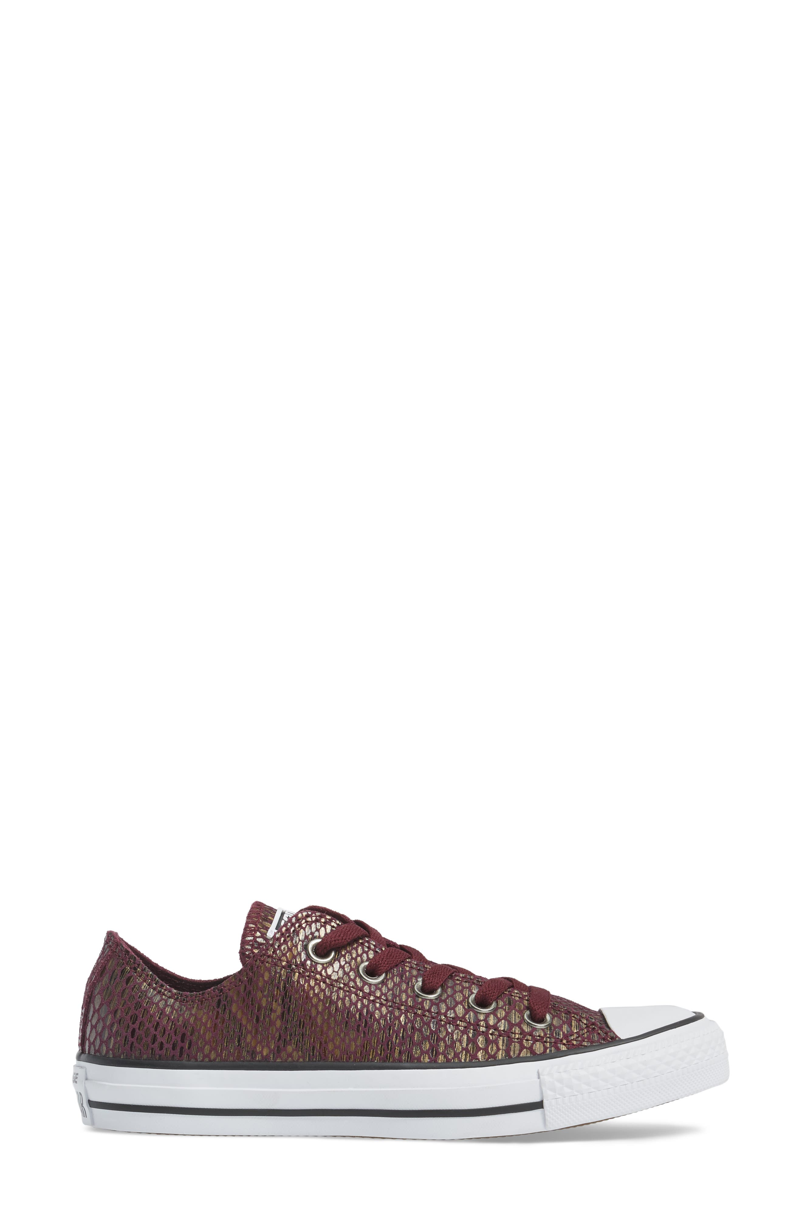 Chuck Taylor<sup>®</sup> All Star<sup>®</sup> Ox Leather Sneaker,                             Alternate thumbnail 6, color,