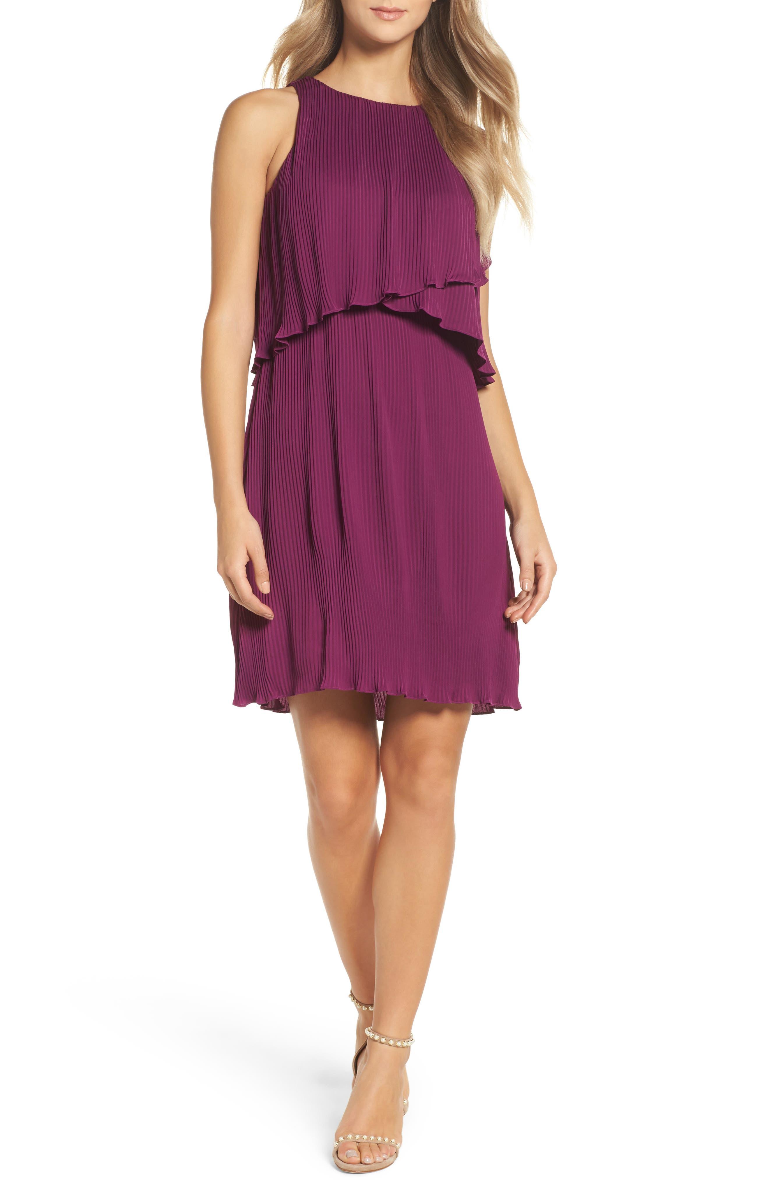 Mademoiselle Ruffle Swing Dress,                         Main,                         color,