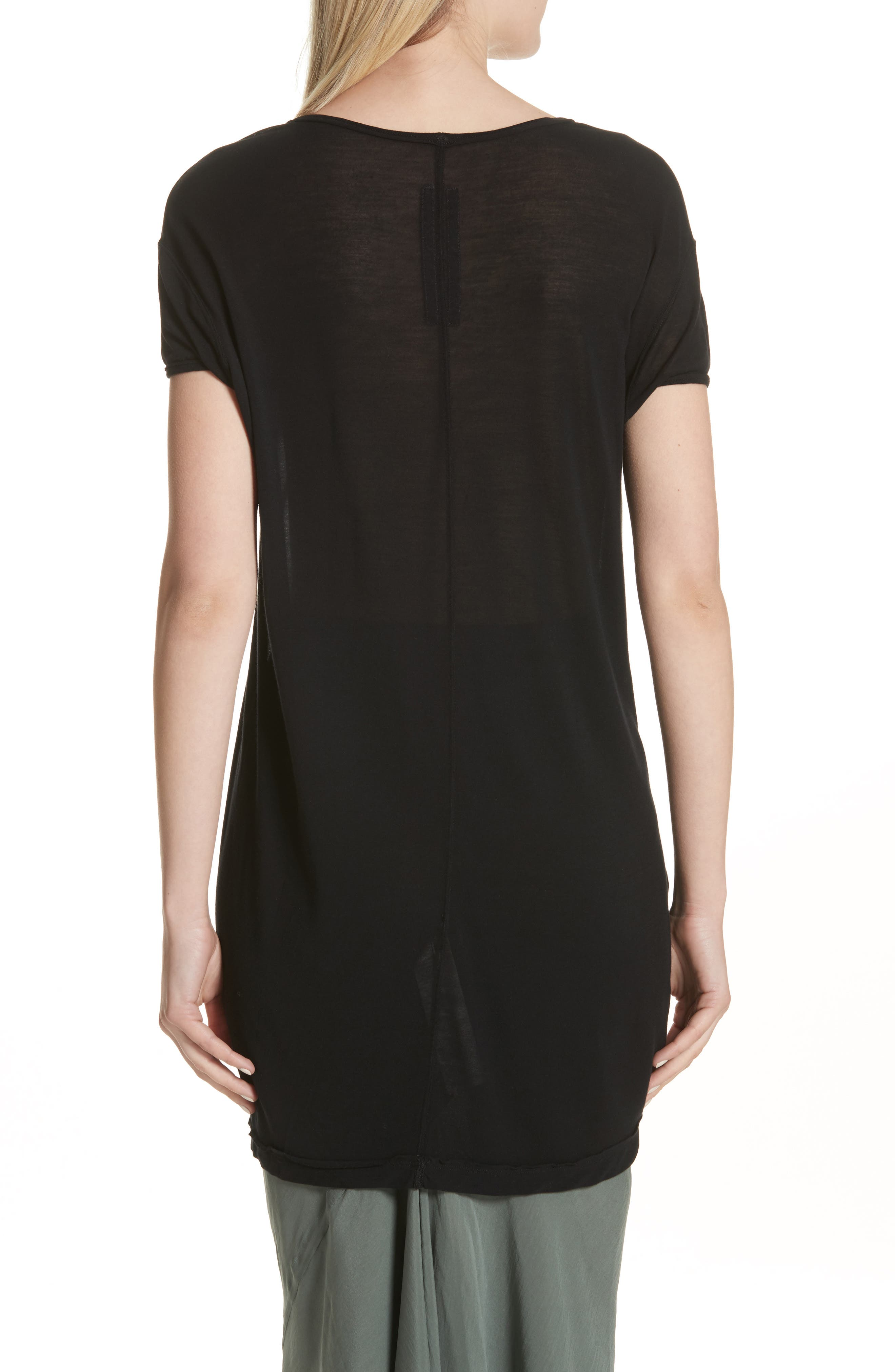 Sheer Tee,                             Alternate thumbnail 3, color,