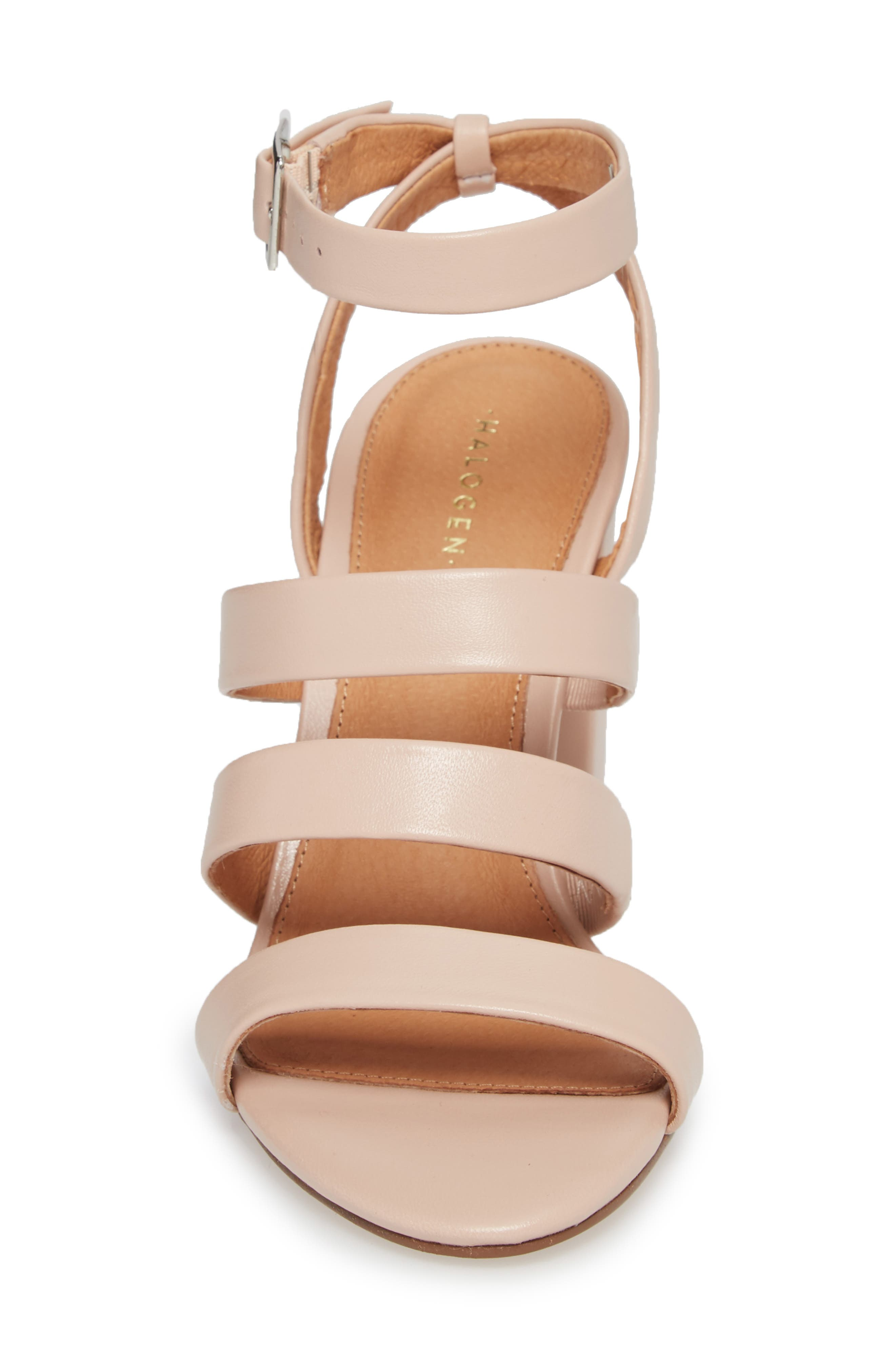 Rocco Sandal,                             Alternate thumbnail 4, color,                             BLUSH LEATHER