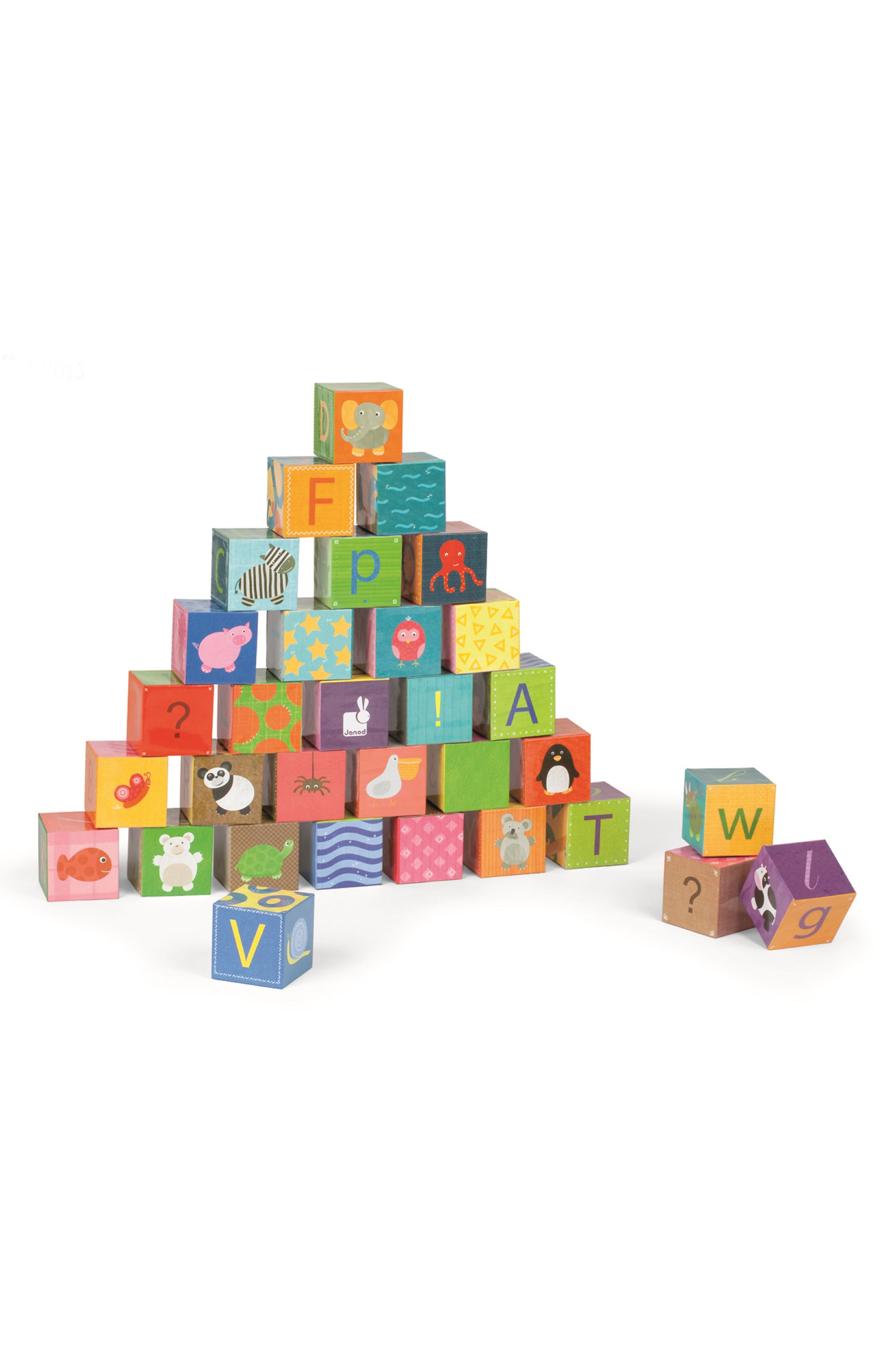 Kubkid 32-Piece Block Set,                             Alternate thumbnail 2, color,