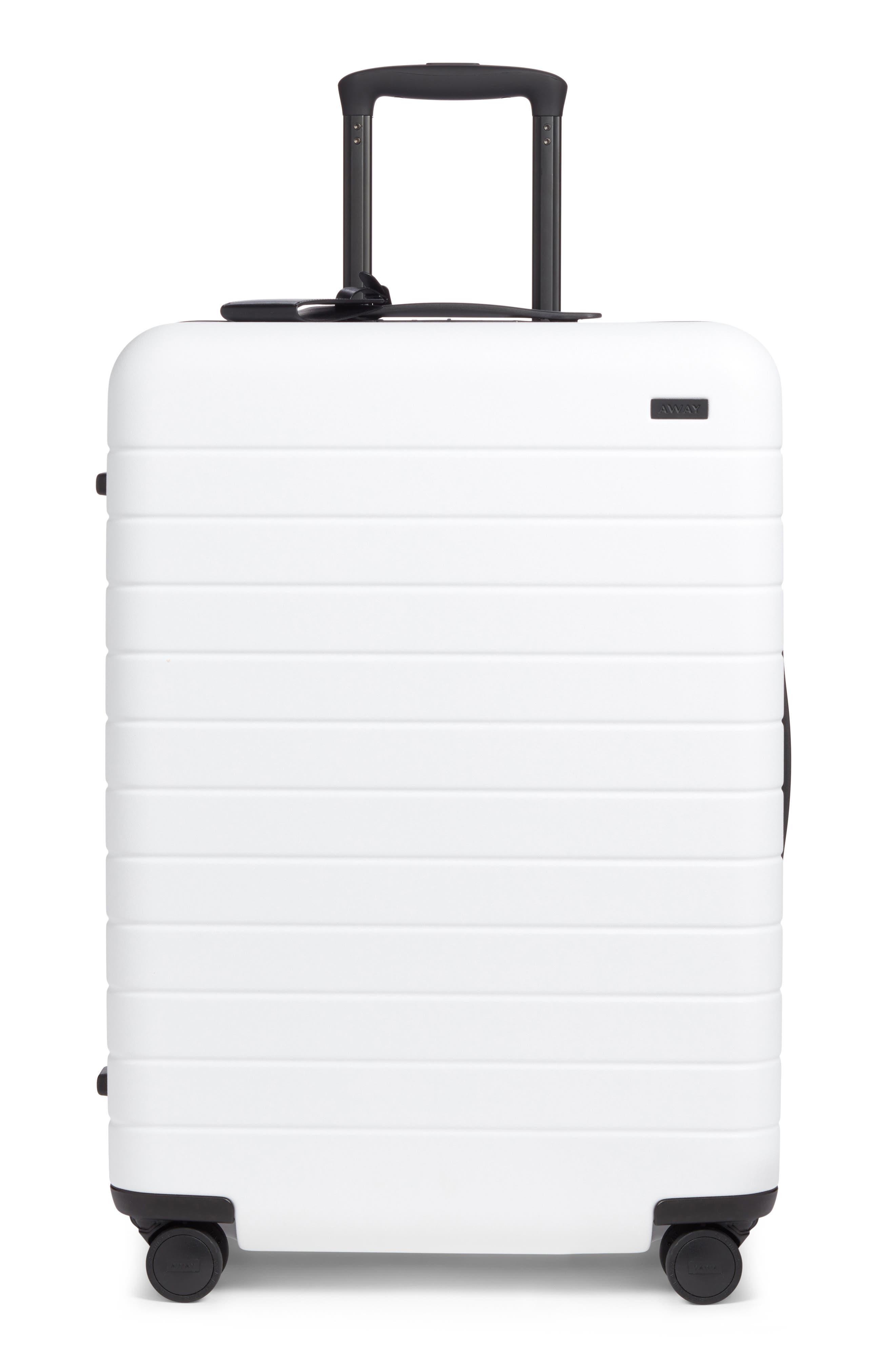 The Medium Suitcase,                             Main thumbnail 1, color,                             WHITE/ MULTI