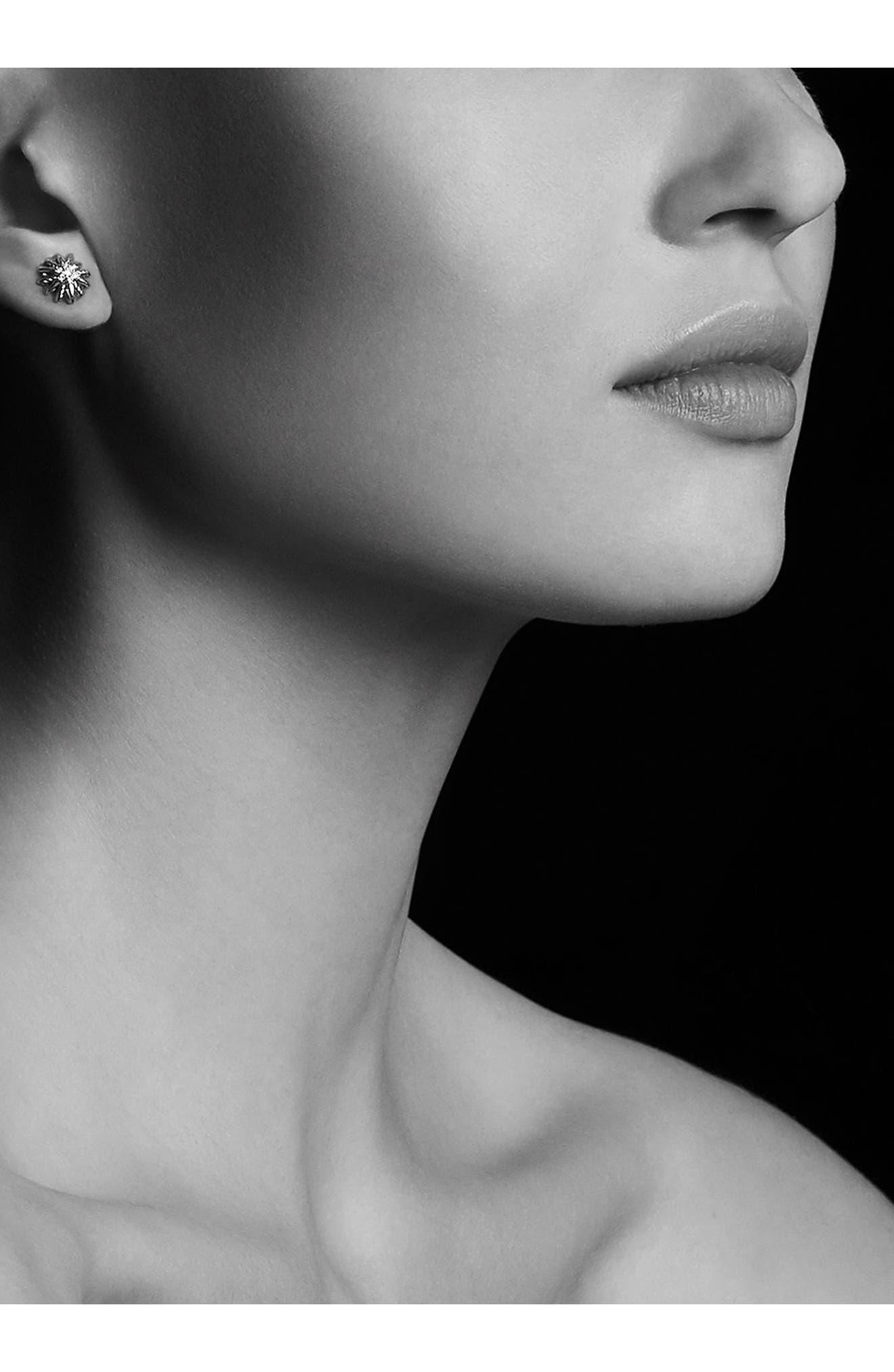 DAVID YURMAN,                             'Starburst' Earrings with Diamonds,                             Alternate thumbnail 2, color,                             DIAMOND