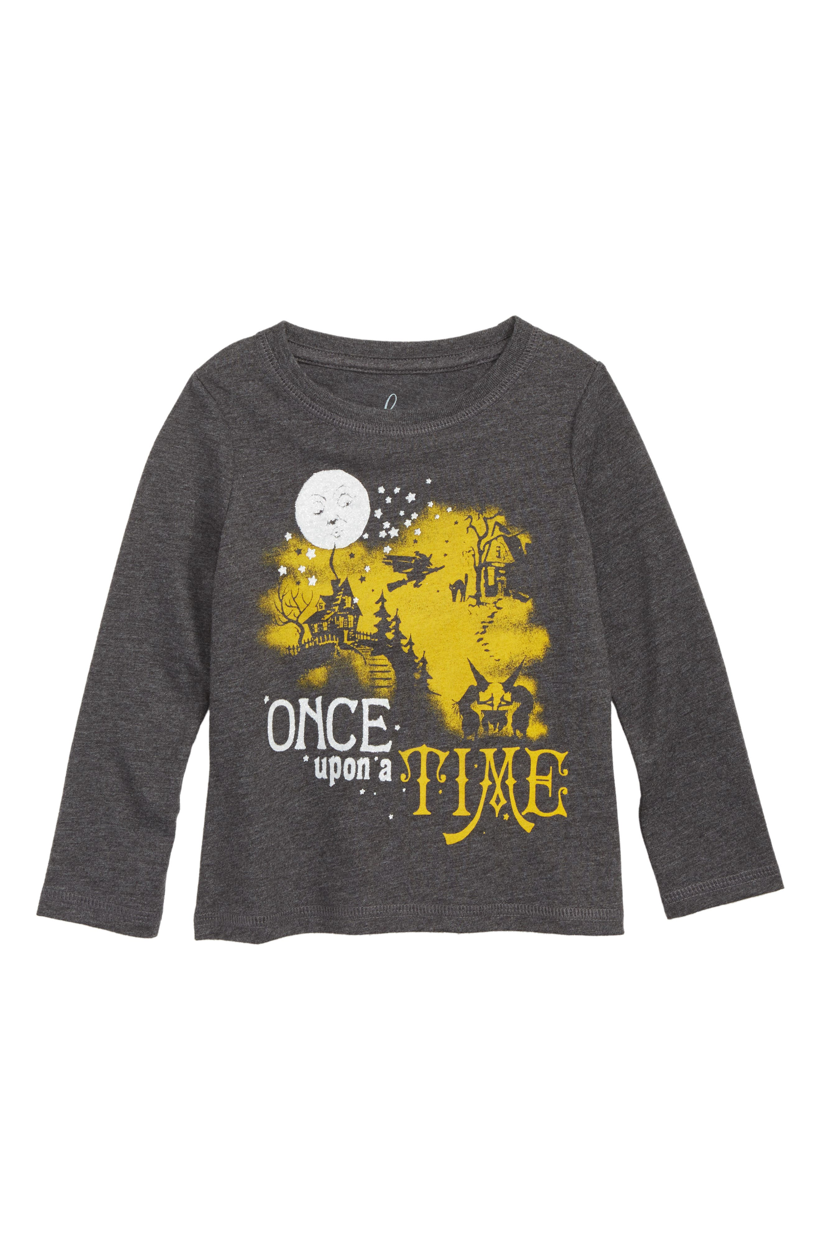 Once Upon a Time Graphic Tee,                             Main thumbnail 1, color,                             BLACK