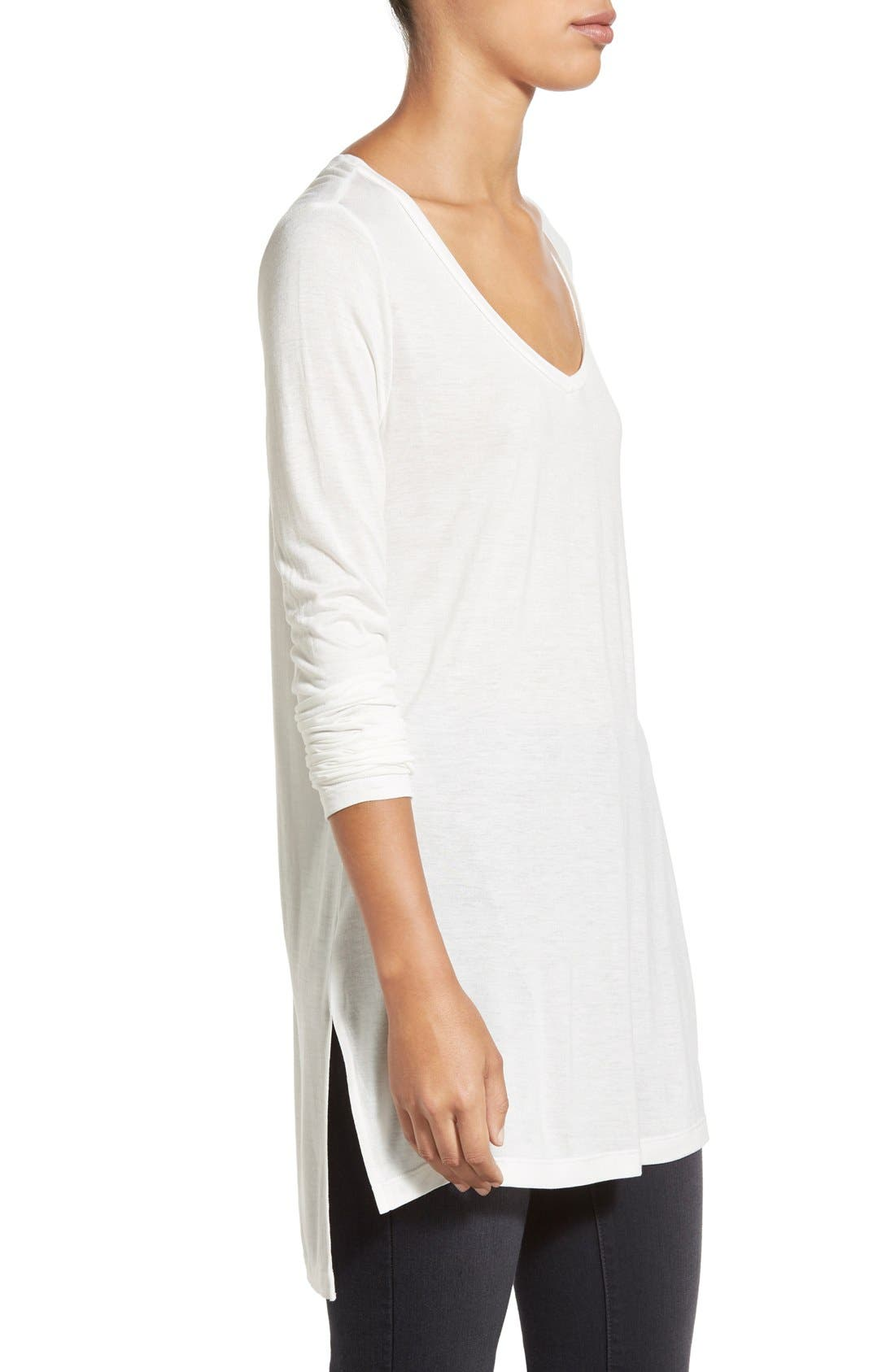 Long Sleeve Lightweight Tunic,                             Alternate thumbnail 42, color,