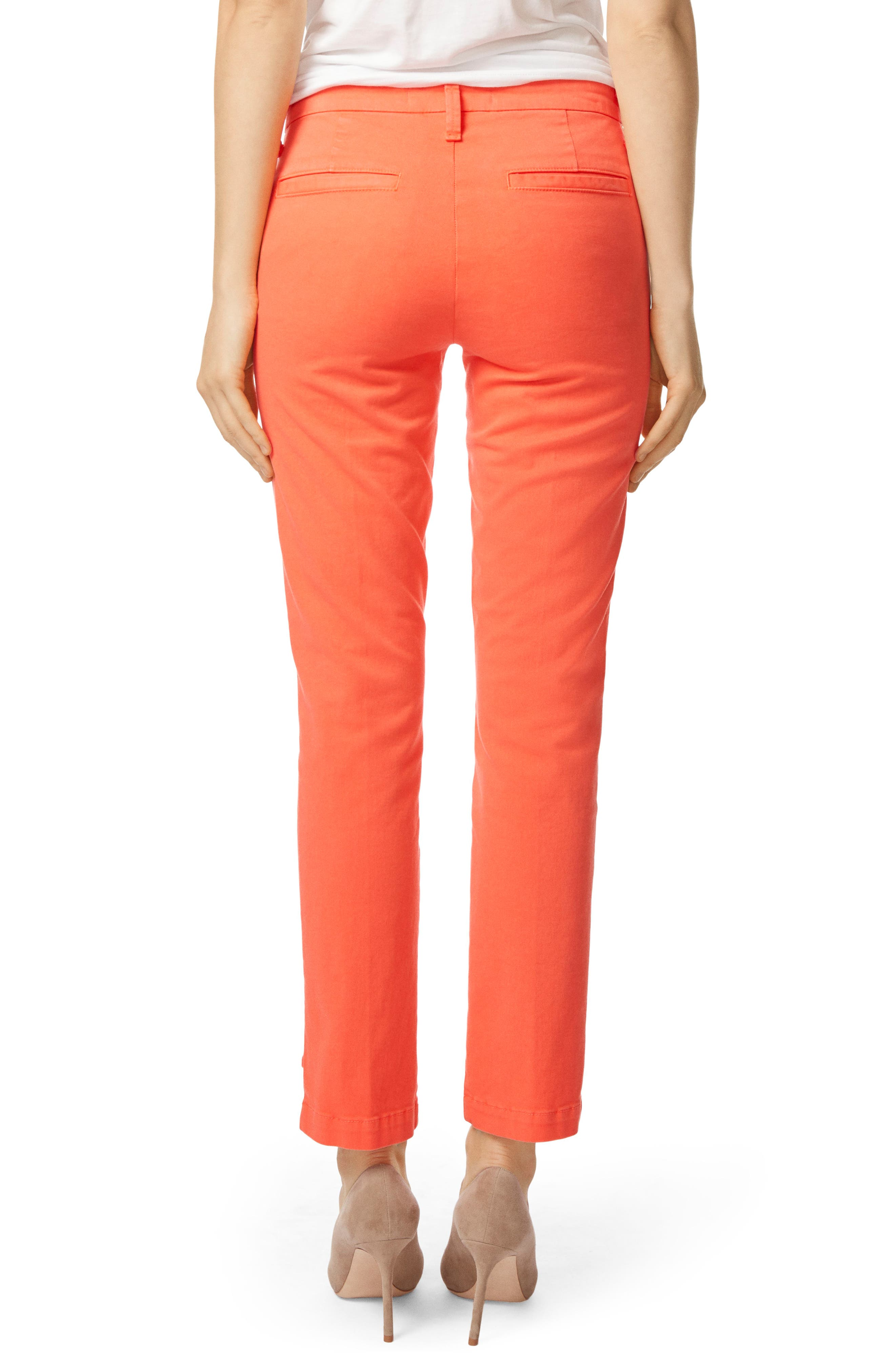 Clara Trousers,                             Alternate thumbnail 2, color,                             PASSION FRUIT