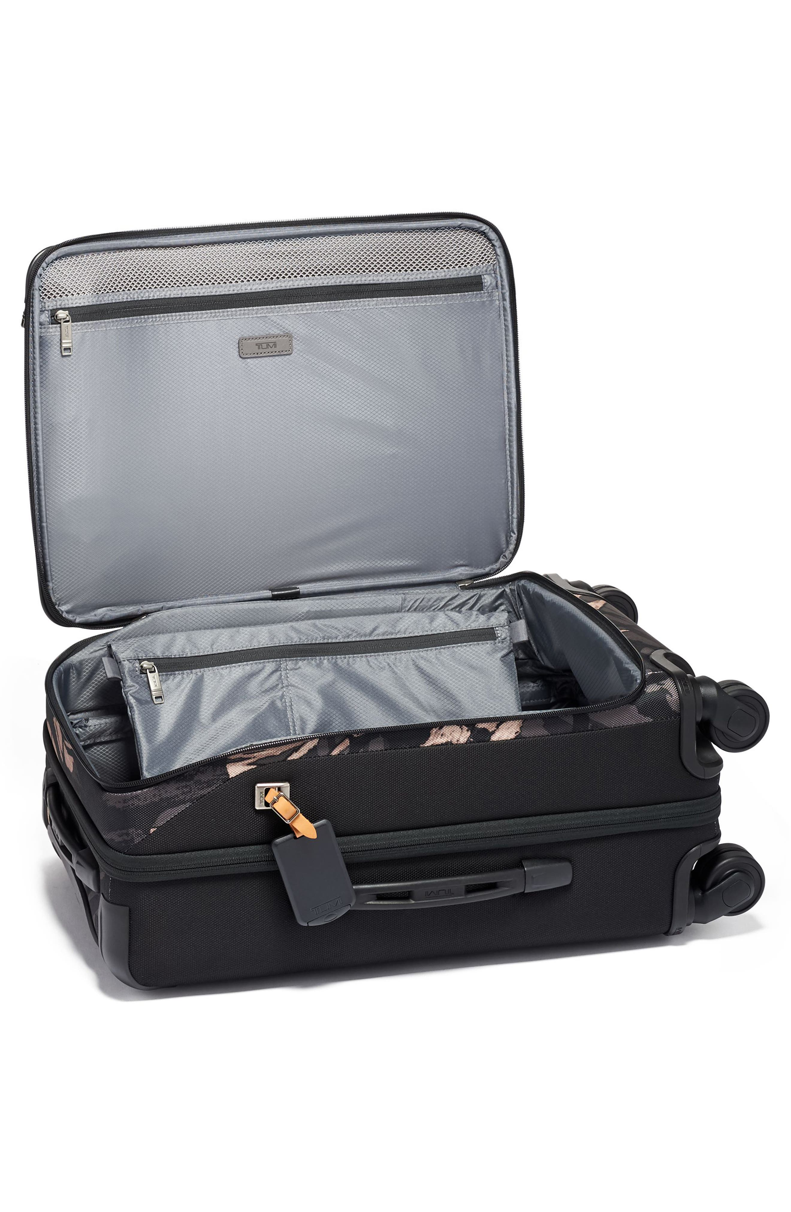 Merge 22-Inch International Expandable Rolling Carry-On,                             Alternate thumbnail 2, color,                             GREY HIGHLANDS PRINT