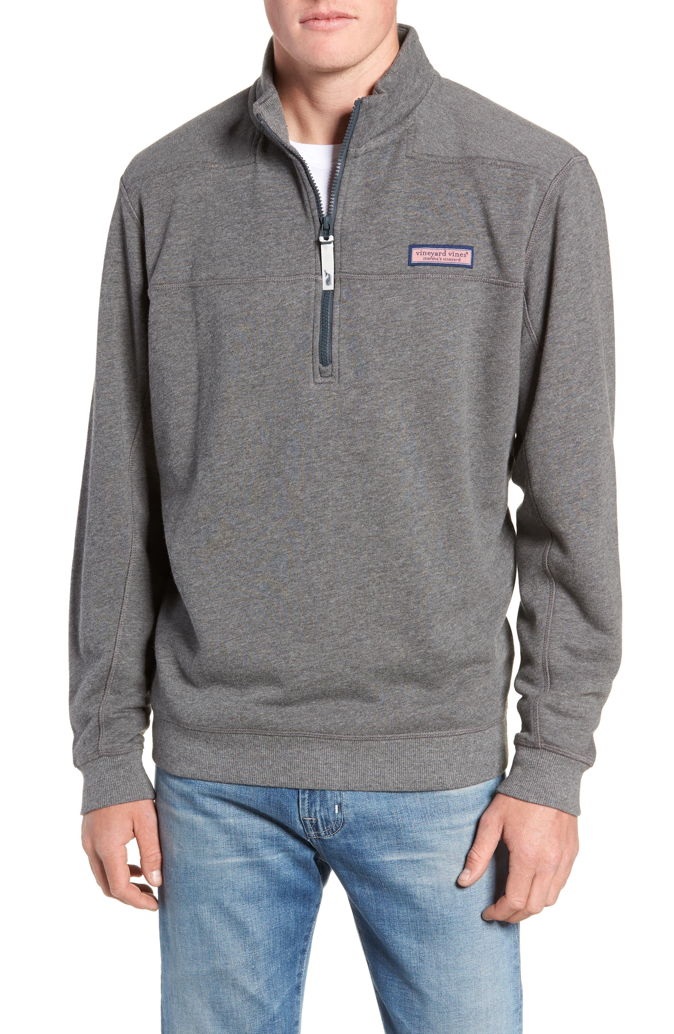 VINEYARD VINES Collegiate Half Zip Pullover, Main, color, 023