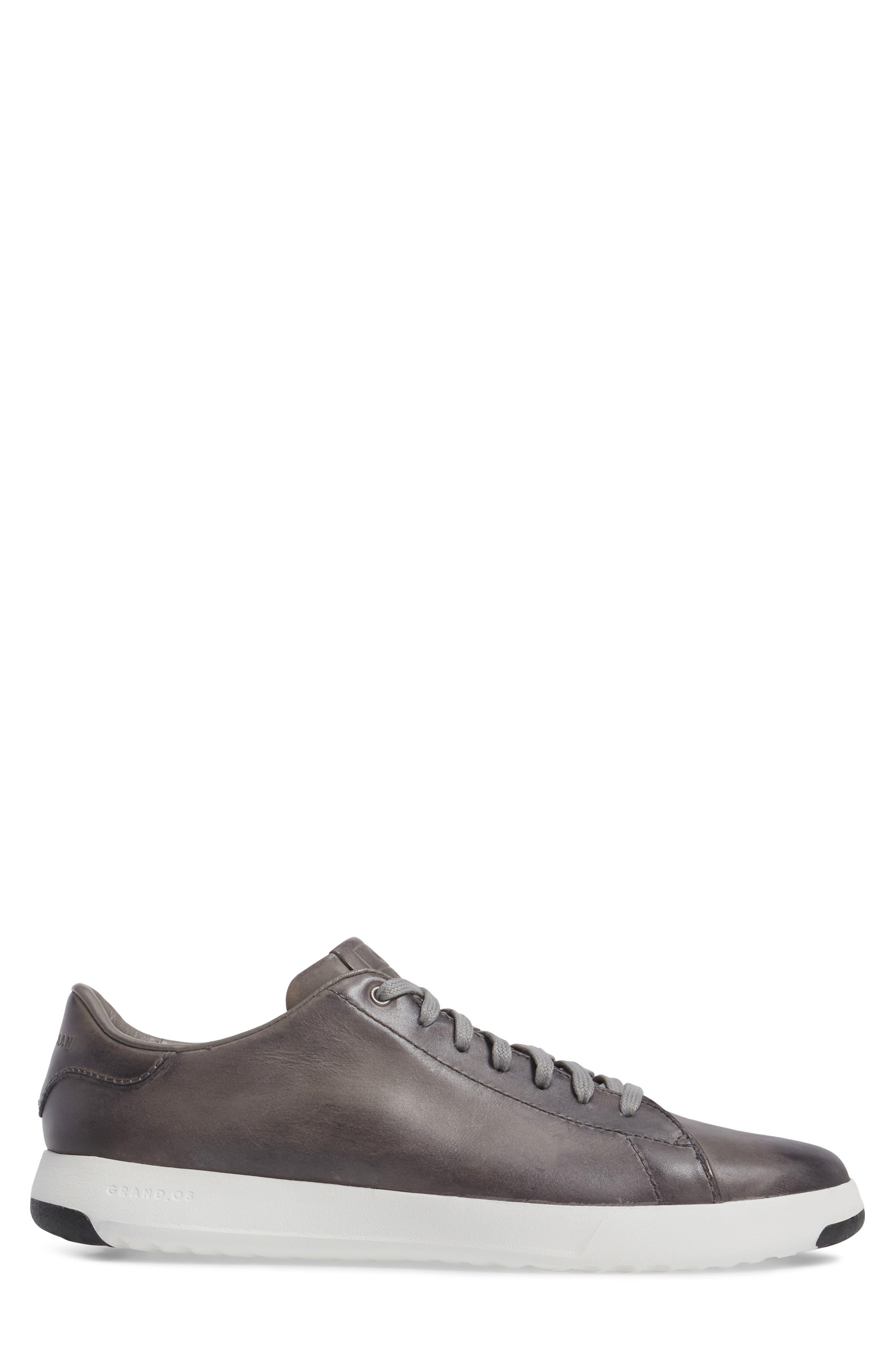 GrandPro Tennis Sneaker,                             Alternate thumbnail 3, color,                             IRONSTONE GRAY HANDSTAIN