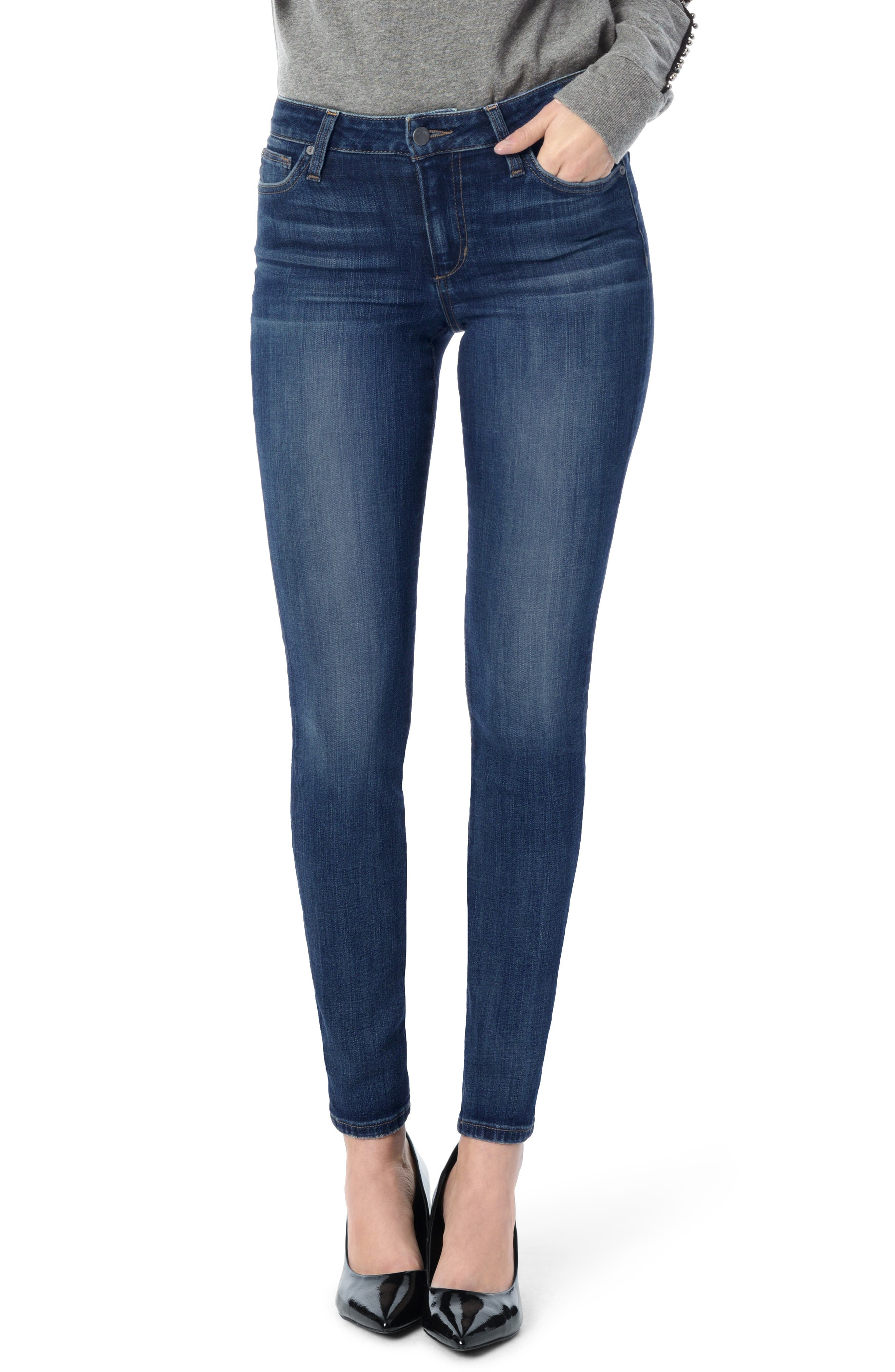 Flawless - Icon Skinny Jeans, Main, color, KATELIN