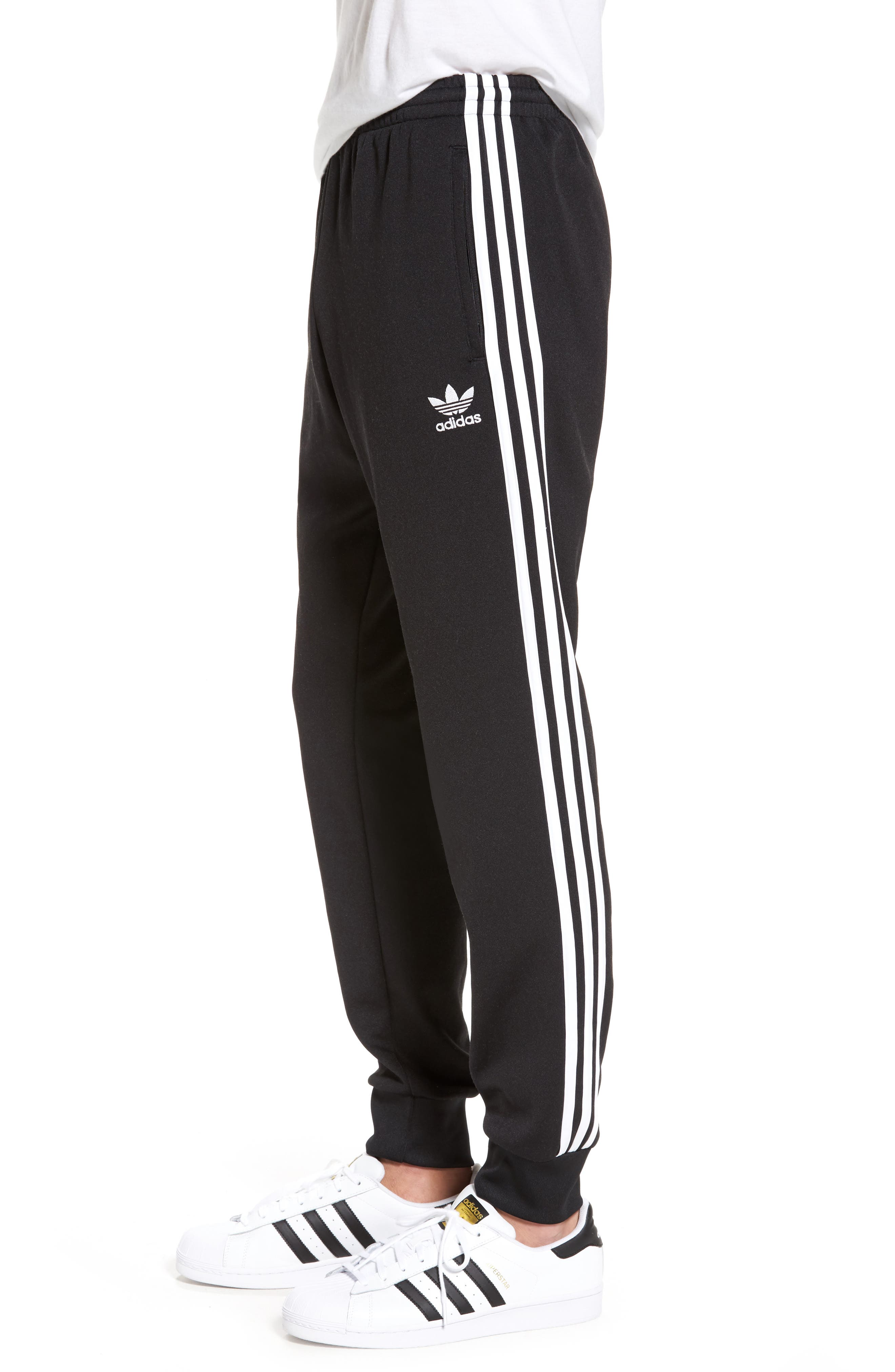 'Superstar' Track Pants,                             Alternate thumbnail 3, color,                             001