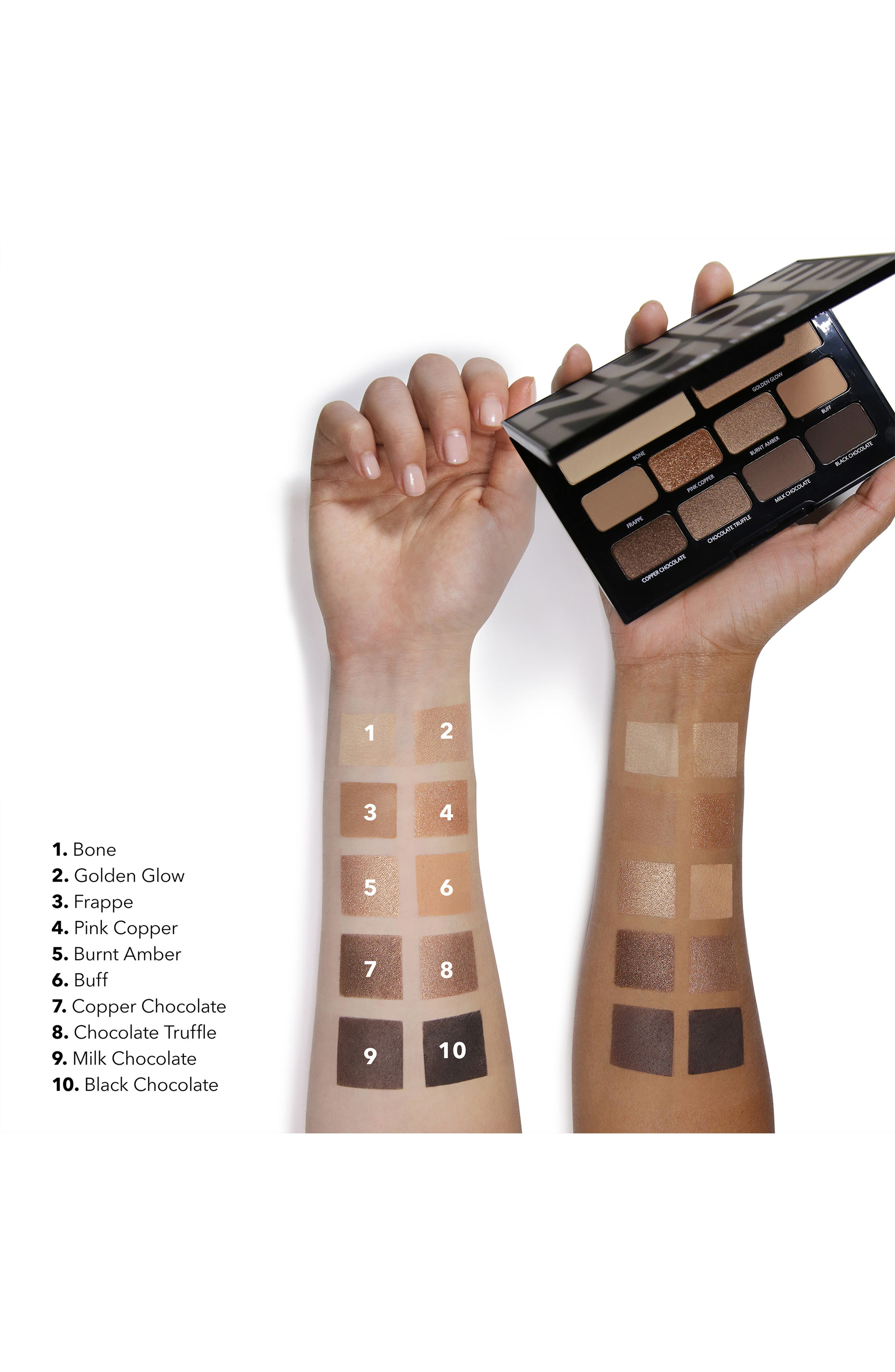 Nude on Nude Eyeshadow Palette,                             Alternate thumbnail 2, color,                             BRONZED NUDES