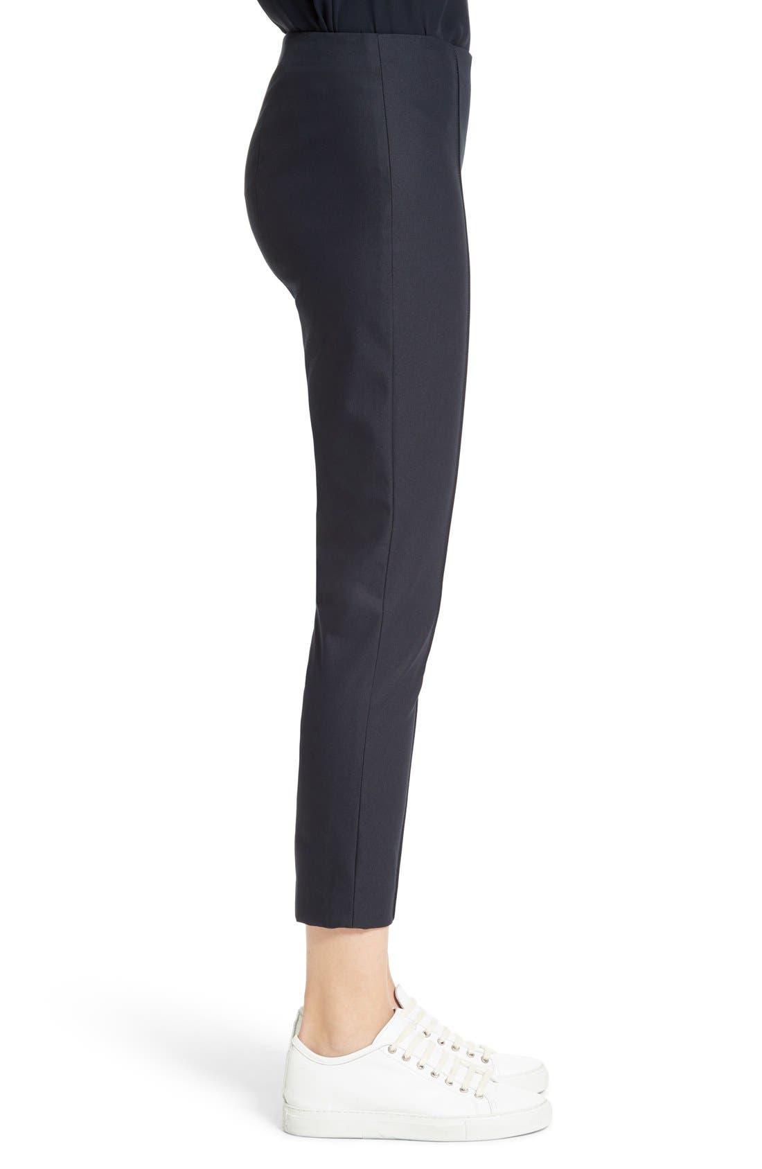 Alettah Stretch Skinny Pants,                             Alternate thumbnail 8, color,                             001