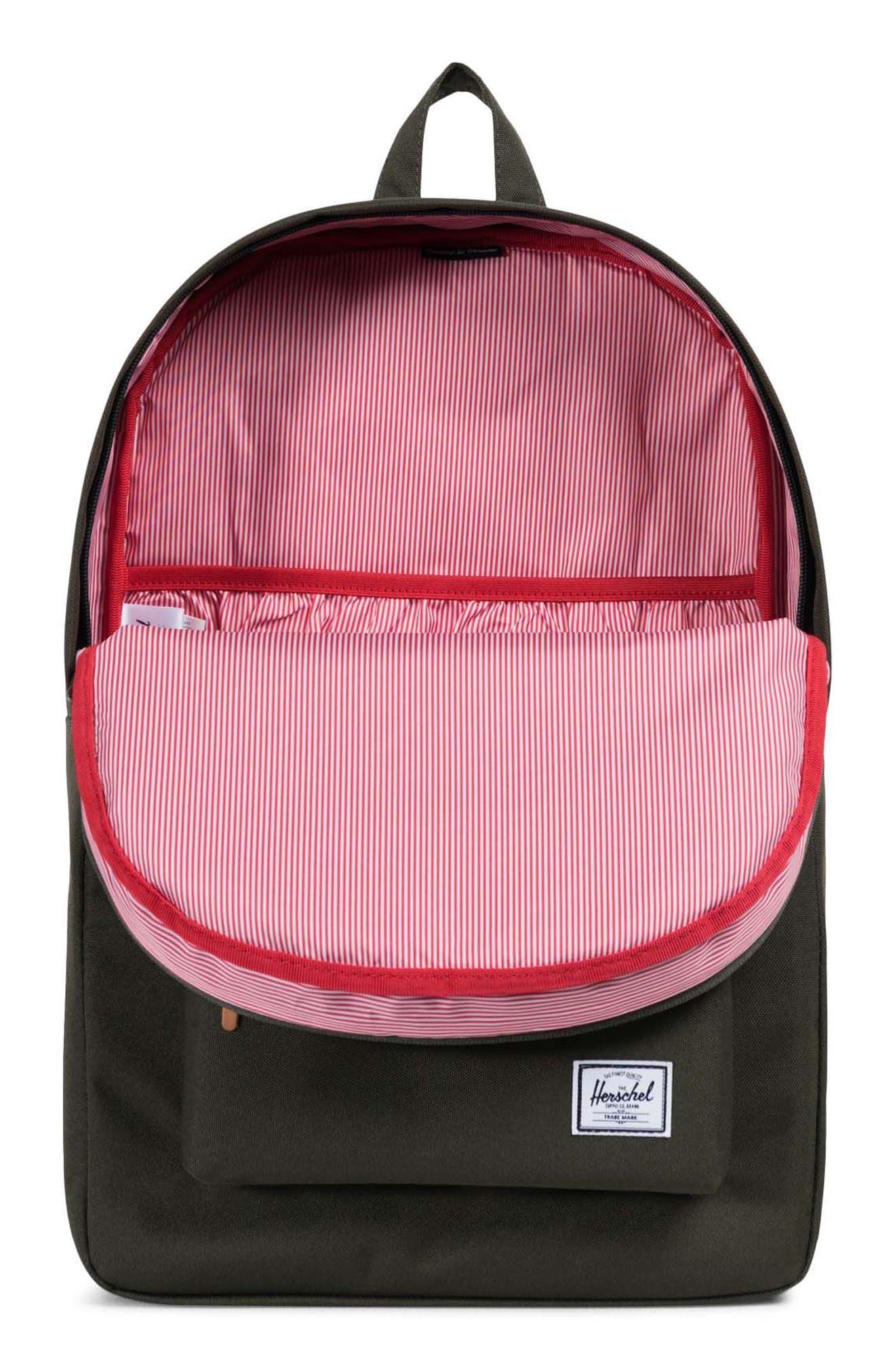 Heritage Offset Stripe Backpack,                             Alternate thumbnail 10, color,