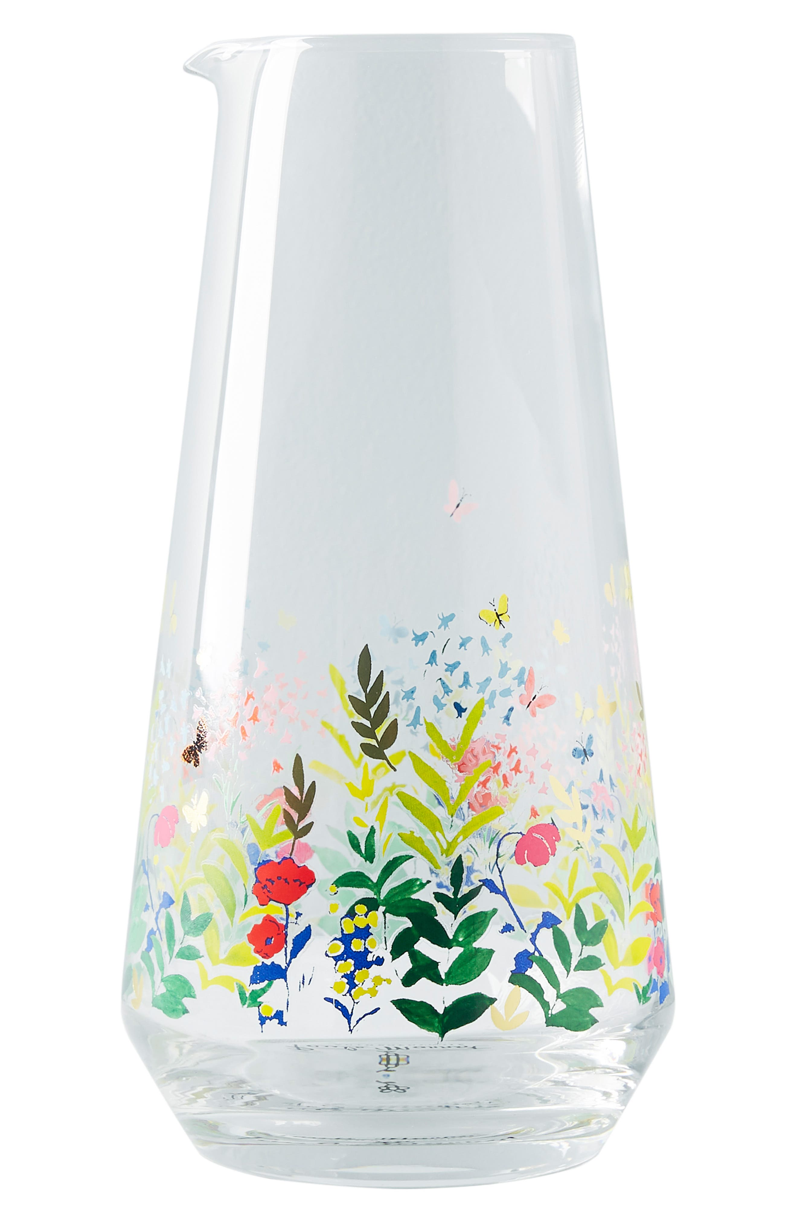 ANTHROPOLOGIE,                             Paule Marrot Garden Carafe,                             Alternate thumbnail 4, color,                             CLEAR