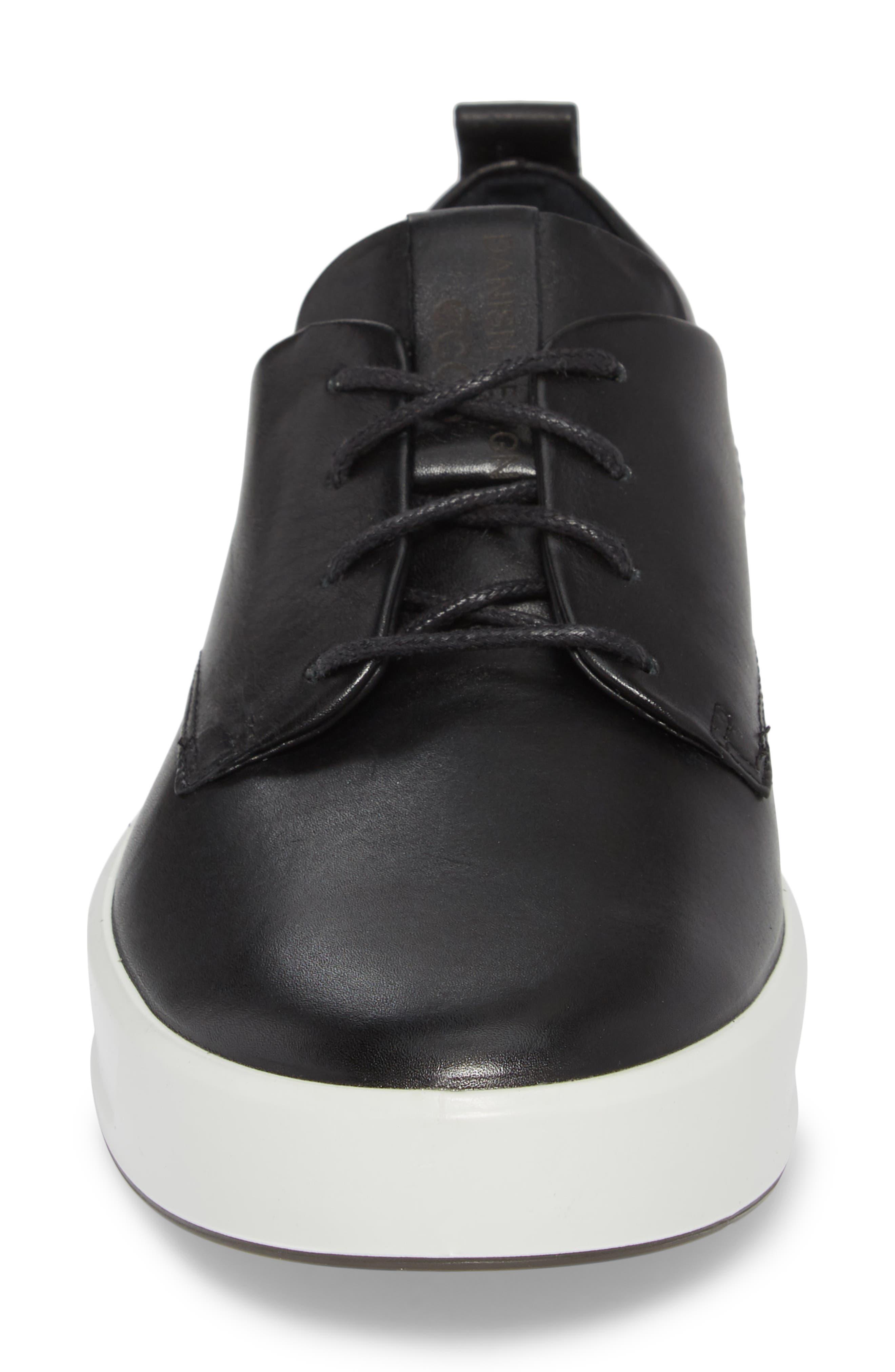 ECCO,                             Soft 8 Street Sneaker,                             Alternate thumbnail 4, color,                             009