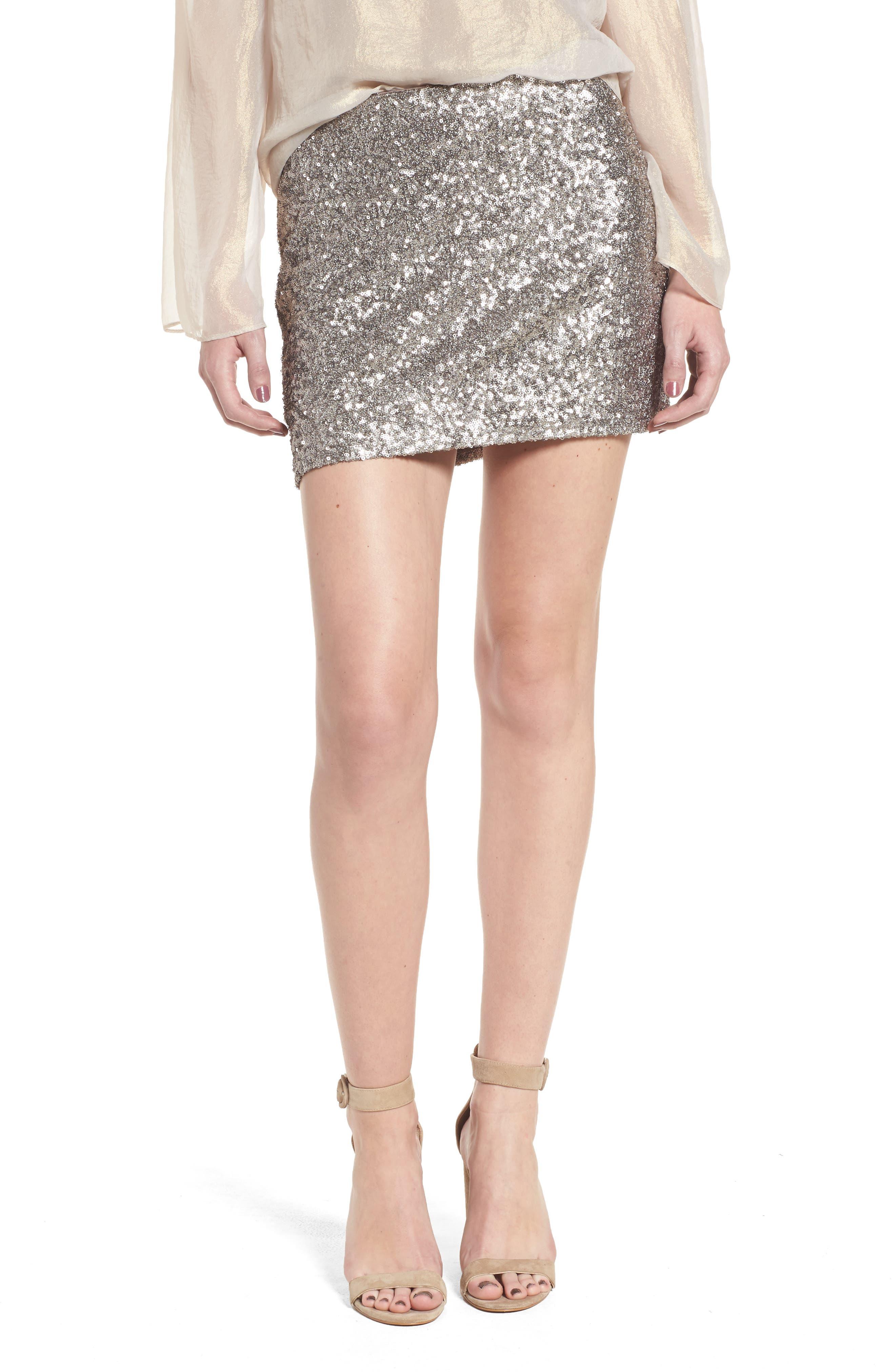 Scene Stealing Miniskirt,                         Main,                         color, 090