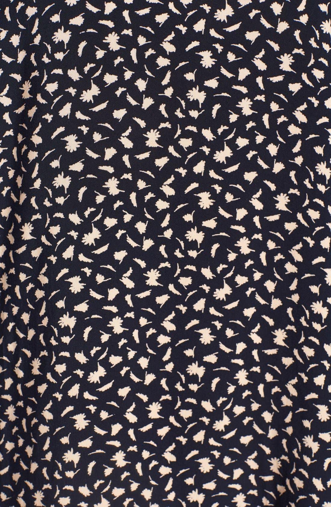 Print Halter Shift Dress,                             Alternate thumbnail 4, color,                             464