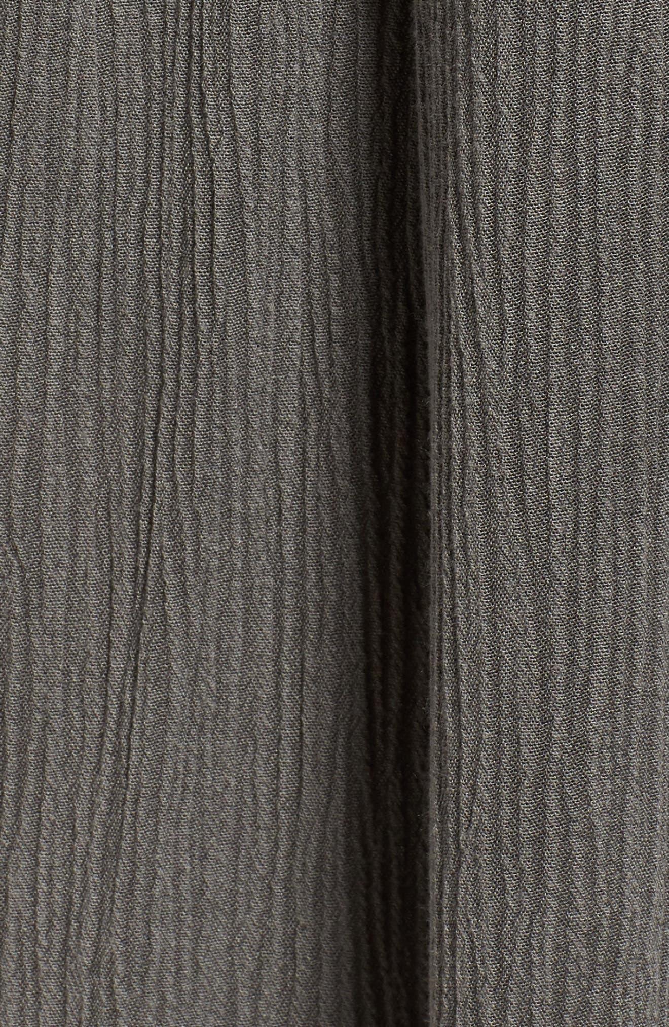 Tie Waist Culottes,                             Alternate thumbnail 6, color,                             010