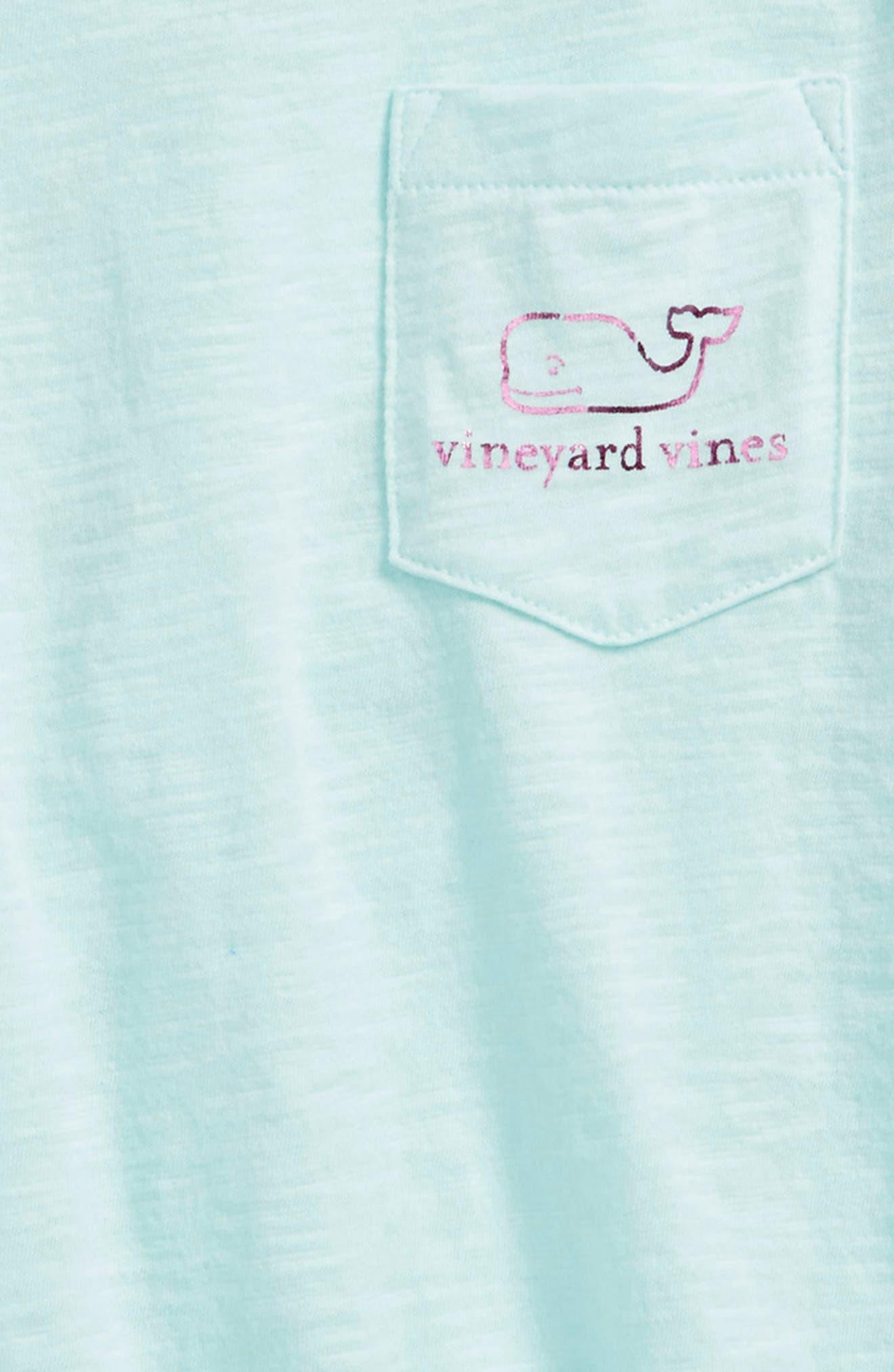 Vintage Foil Whale Pocket Tee,                             Alternate thumbnail 6, color,