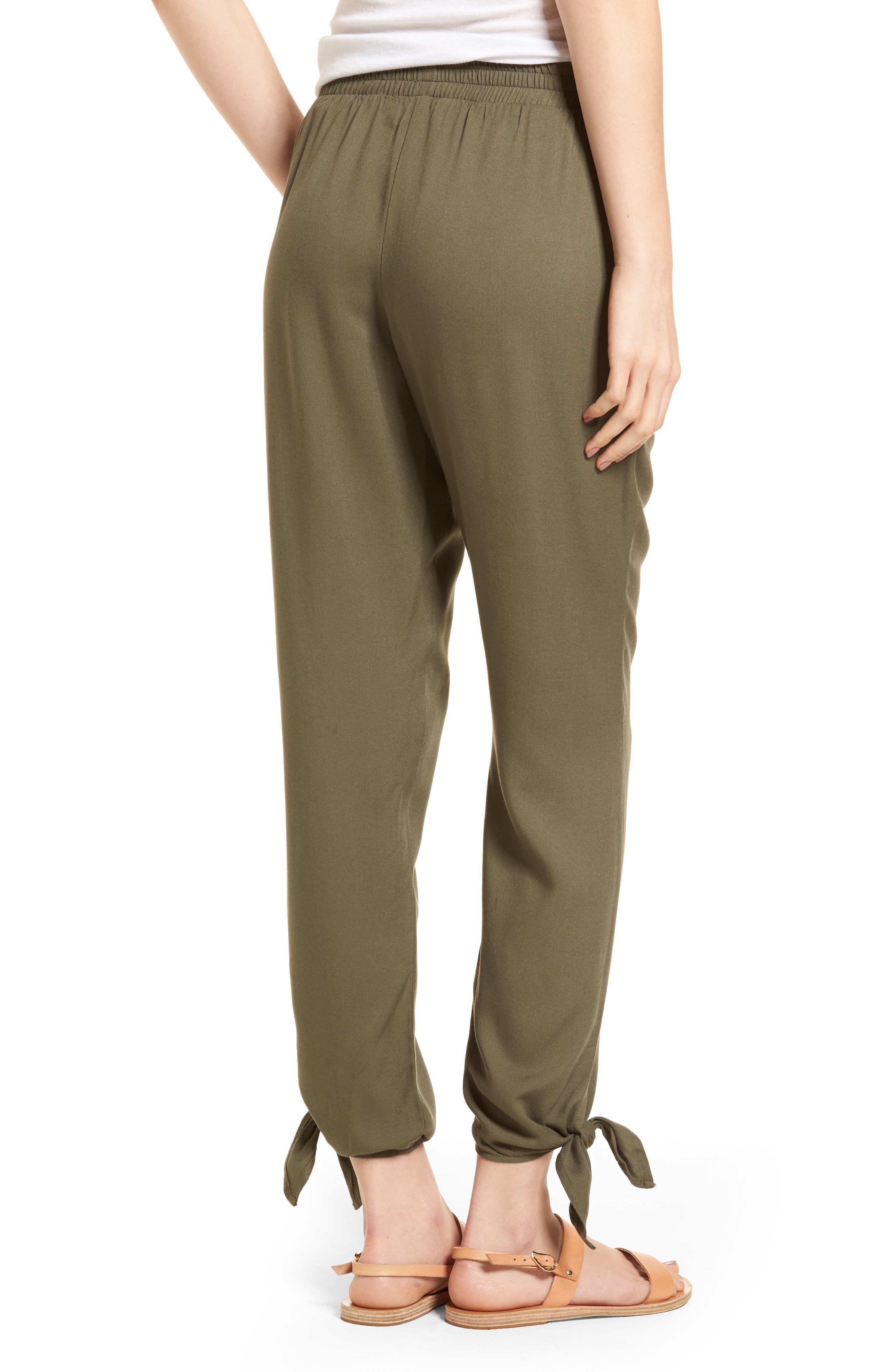 Ankle Tie Pants,                             Alternate thumbnail 5, color,