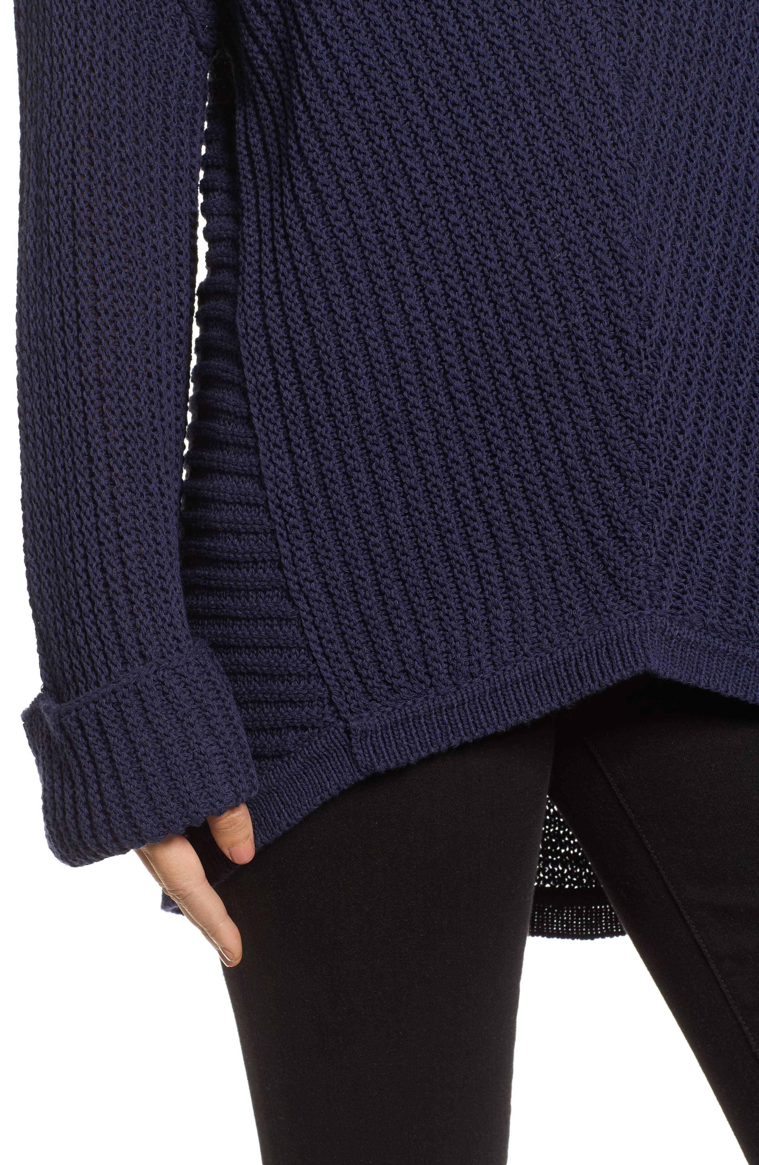 Cuffed Sleeve Sweater,                             Alternate thumbnail 13, color,