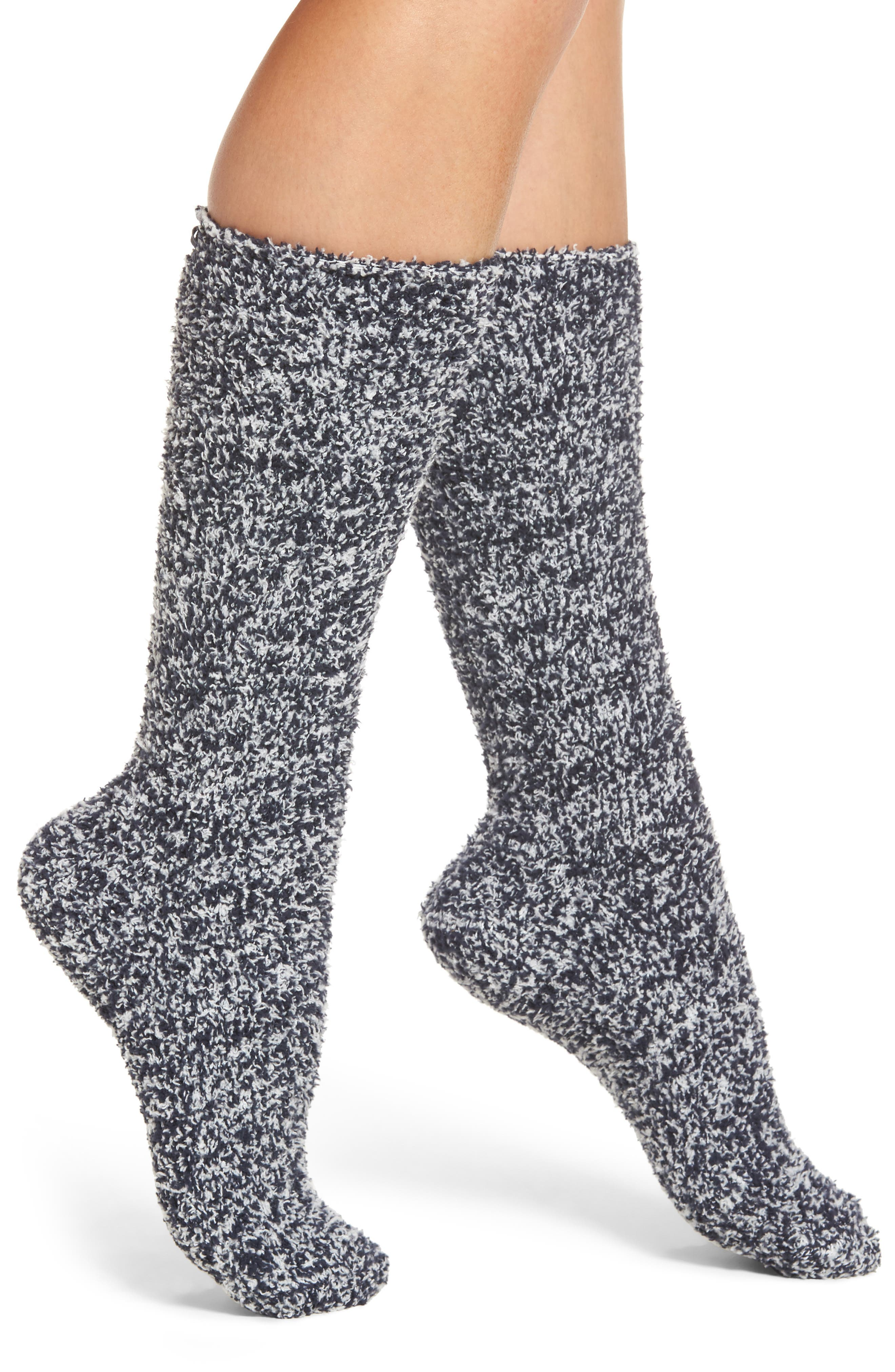 CozyChic<sup>®</sup> Socks,                             Main thumbnail 1, color,                             INDIGO/ WHITE