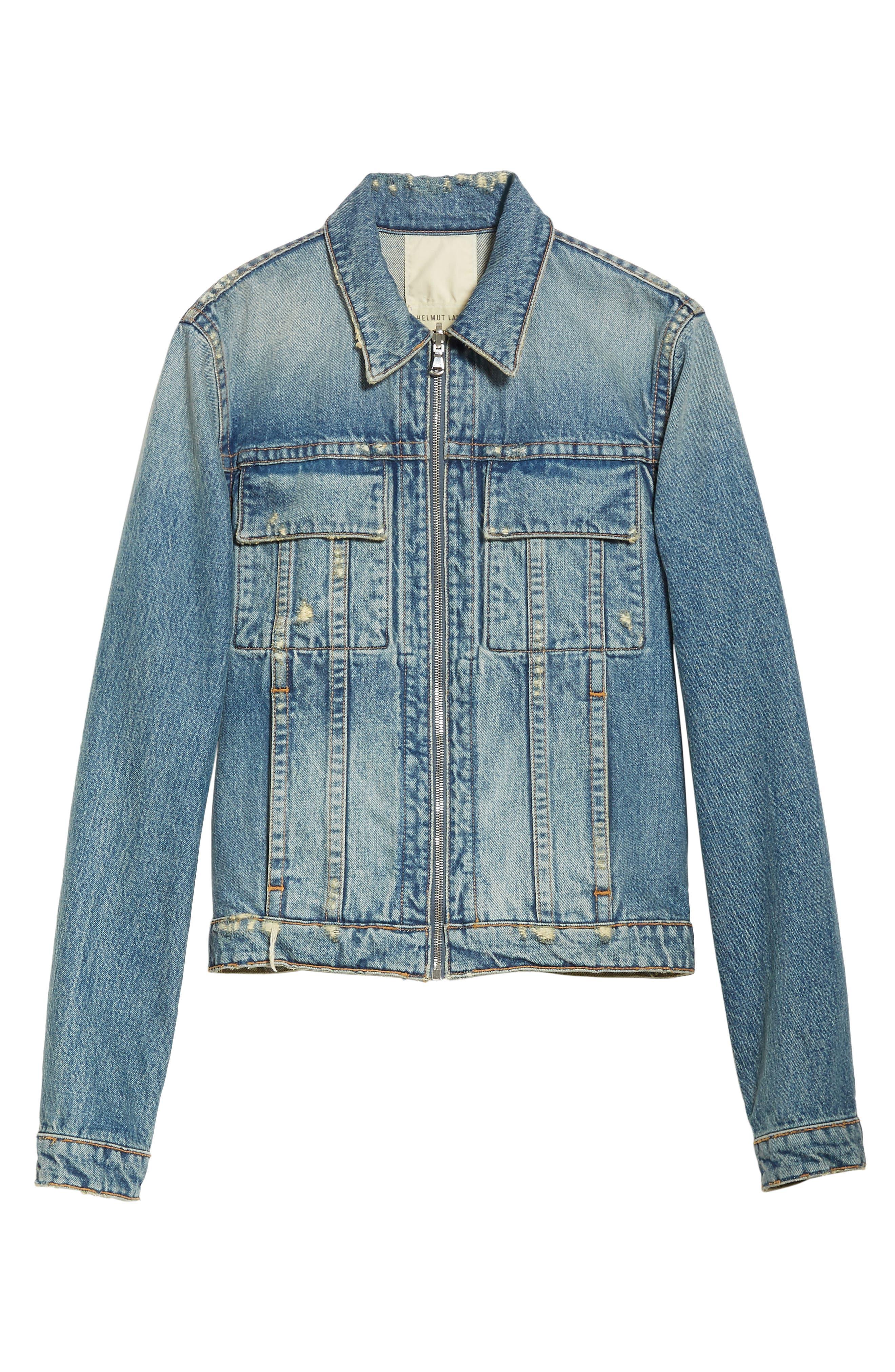 Reversible 87 Denim Jacket,                             Alternate thumbnail 5, color,                             484