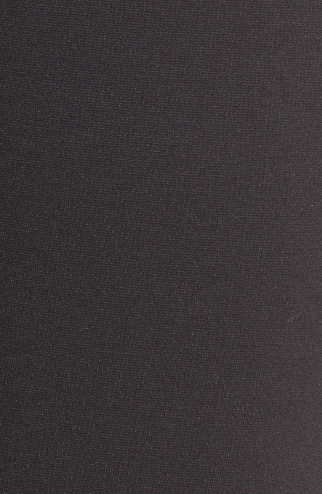 Hoxton Ankle Ponte Pants,                             Alternate thumbnail 5, color,                             001