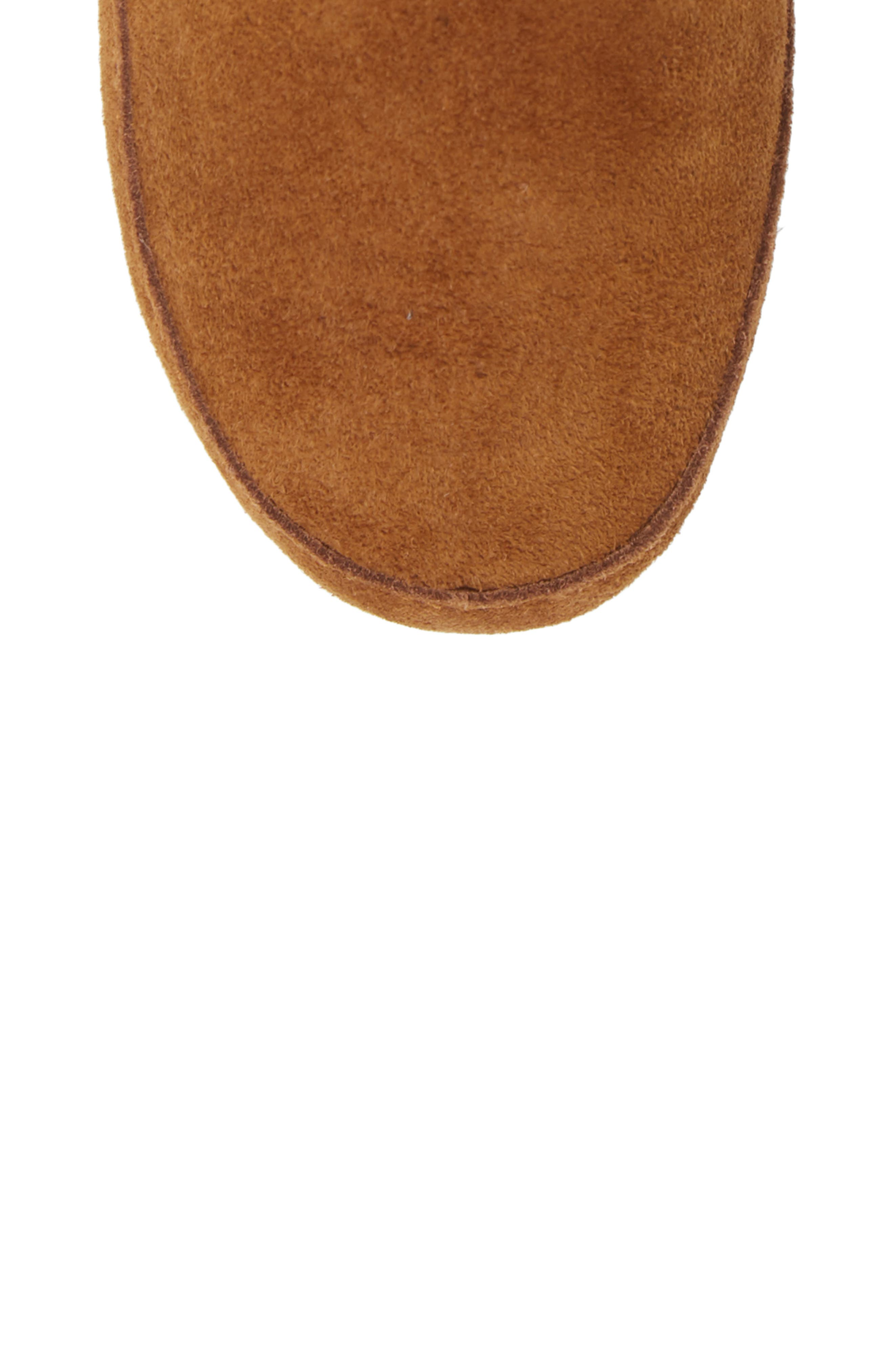 The Suede Slipper Bootie,                             Alternate thumbnail 5, color,                             200