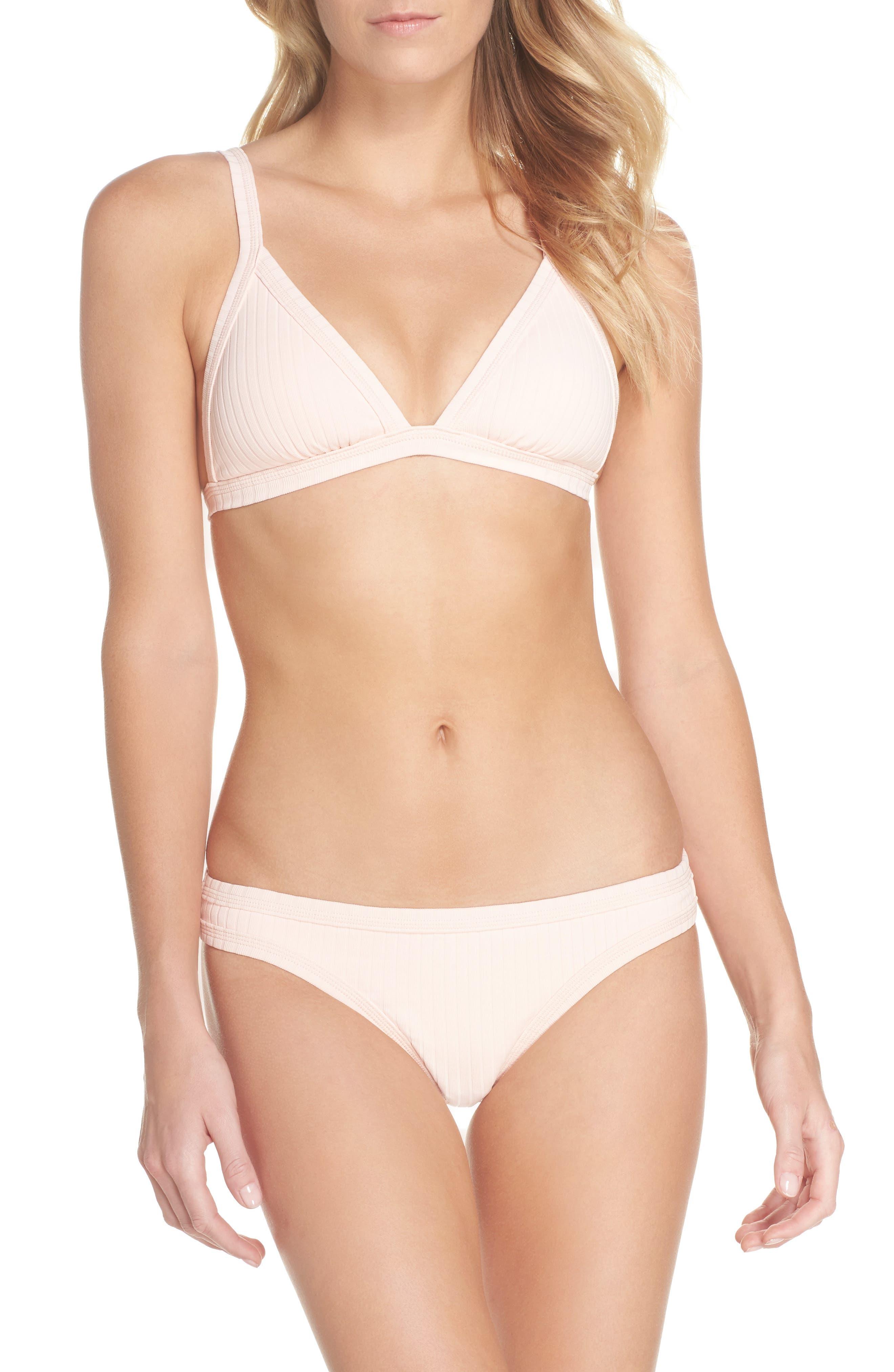 Inka Ribbed Bikini Top,                             Alternate thumbnail 7, color,                             950