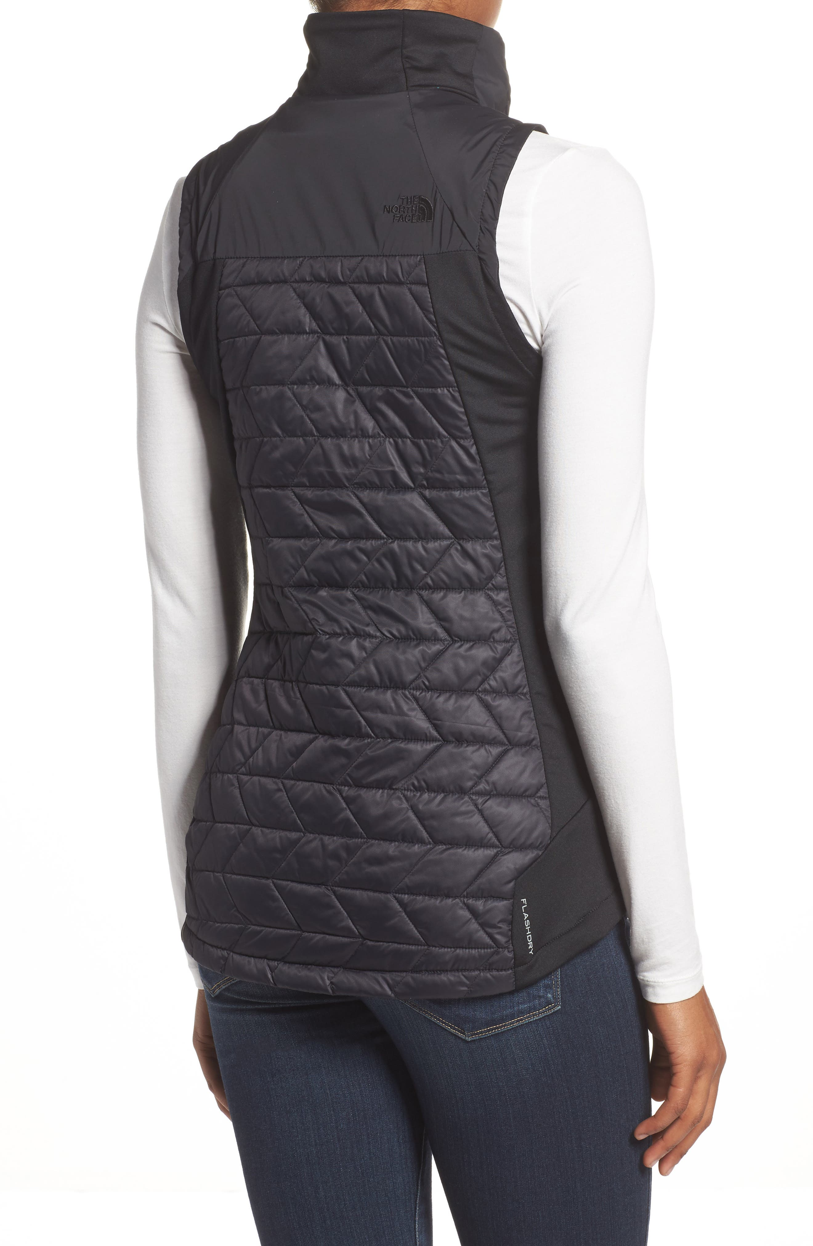 ThermoBall<sup>™</sup> Slim Fit Vest,                             Alternate thumbnail 2, color,                             001