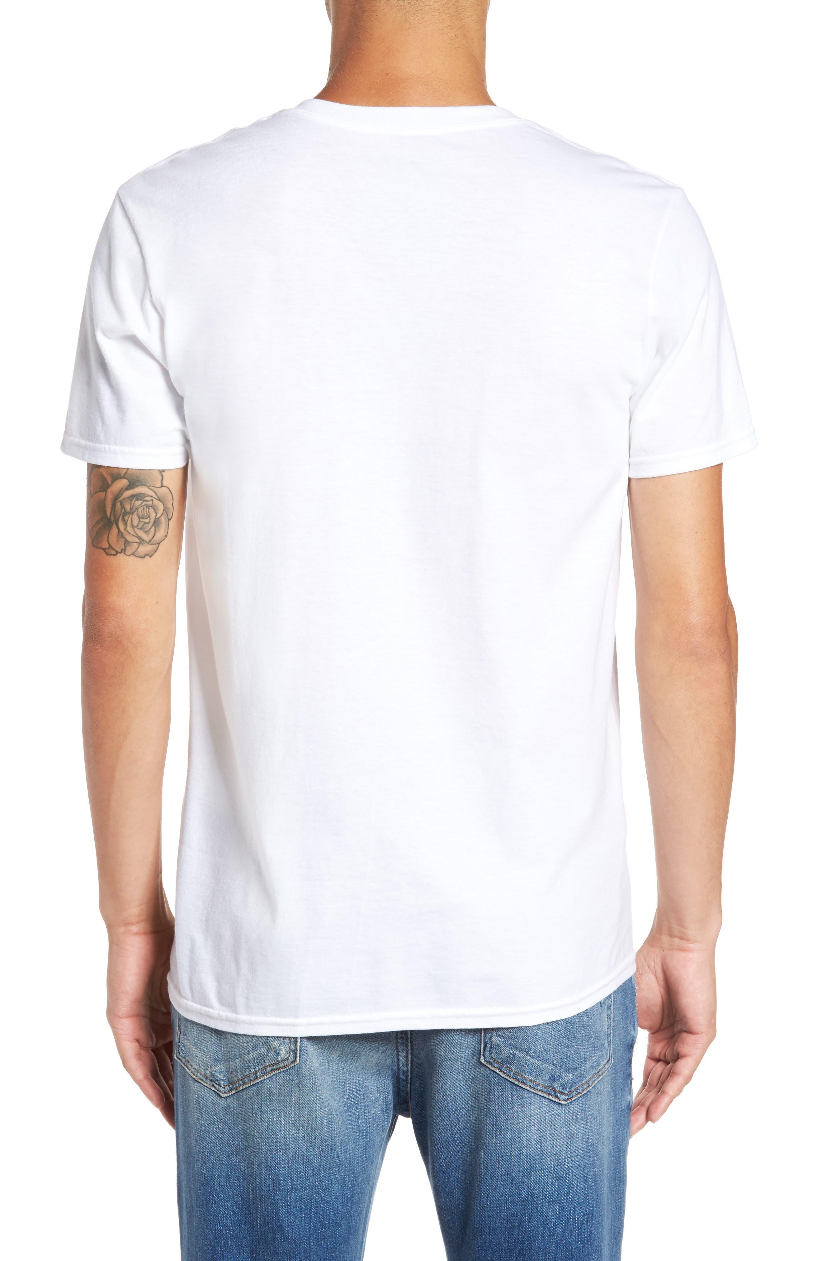 Famous Rose Graphic T-Shirt,                             Alternate thumbnail 2, color,                             100