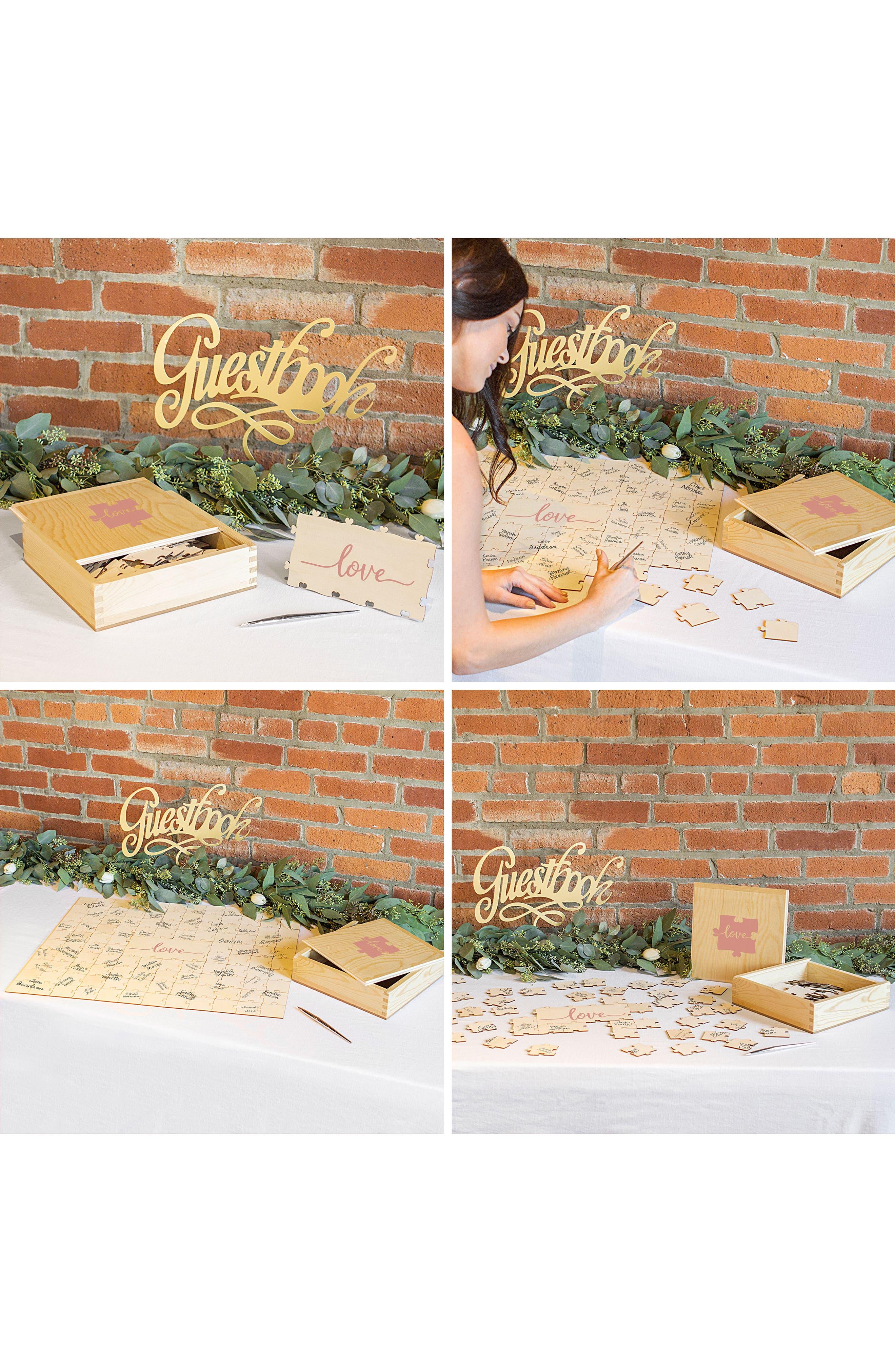 Love Guest Book Puzzle,                             Alternate thumbnail 11, color,