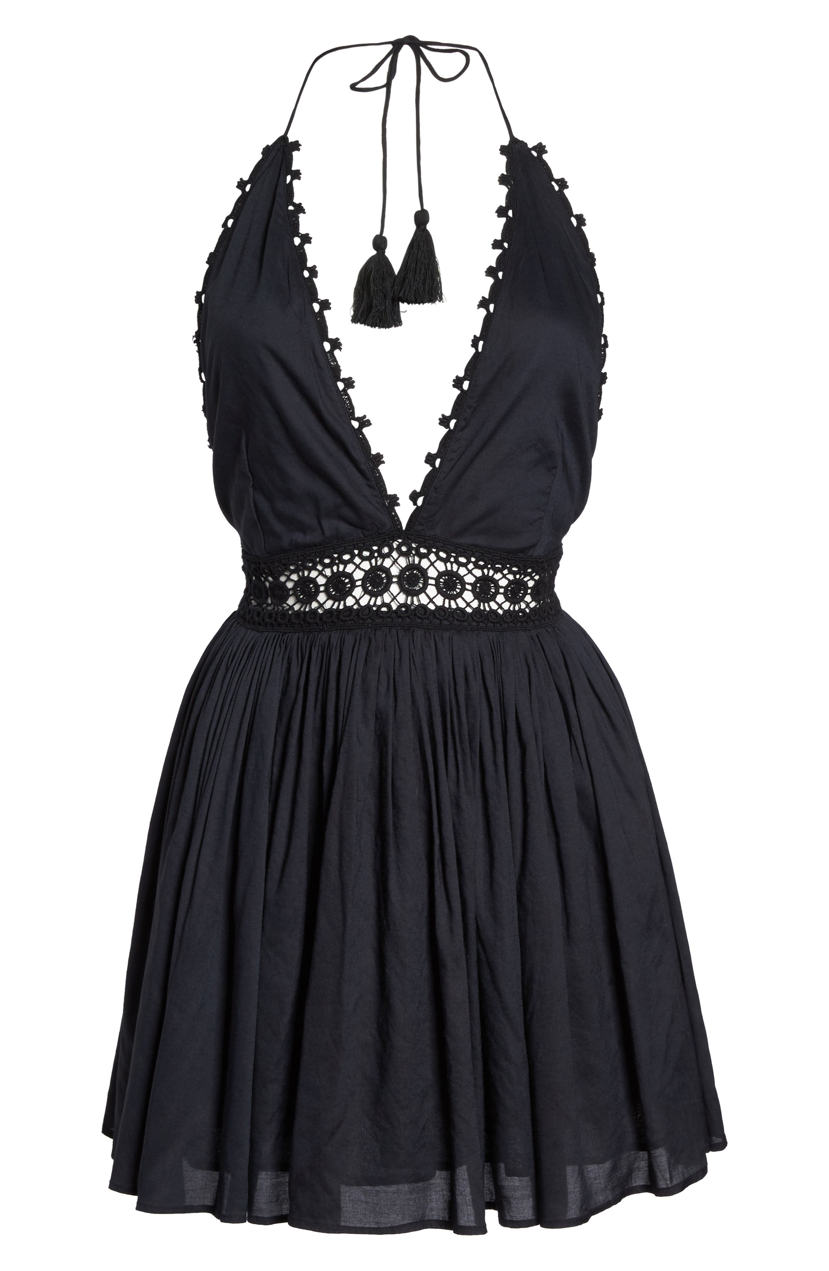 Celeste Cover-Up Dress,                             Alternate thumbnail 6, color,                             001