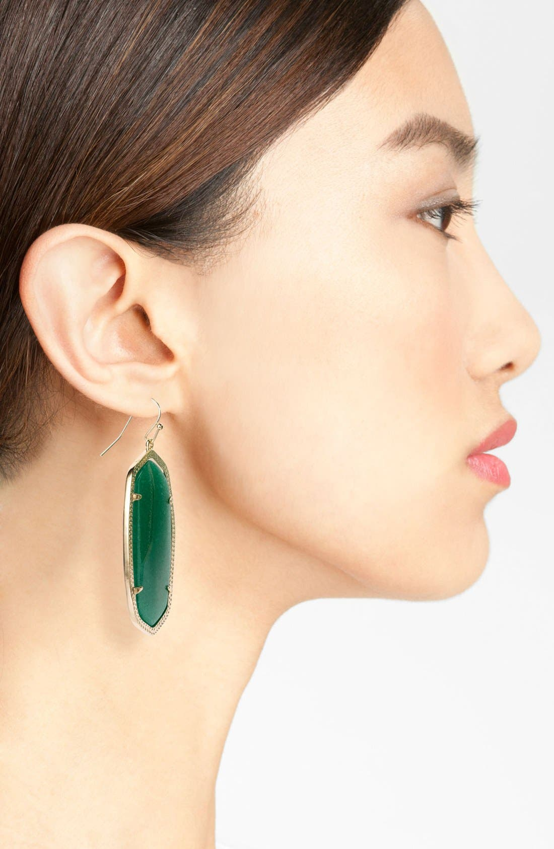 Danielle - Large Oval Statement Earrings,                             Alternate thumbnail 142, color,