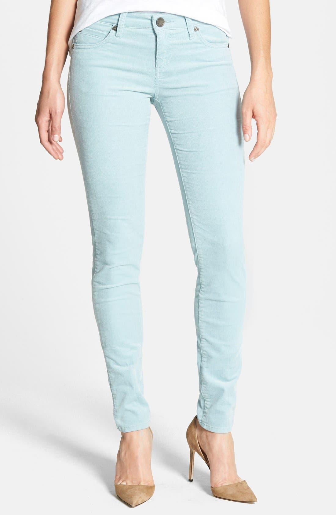 'Diana' Stretch Corduroy Skinny Pants,                             Main thumbnail 32, color,