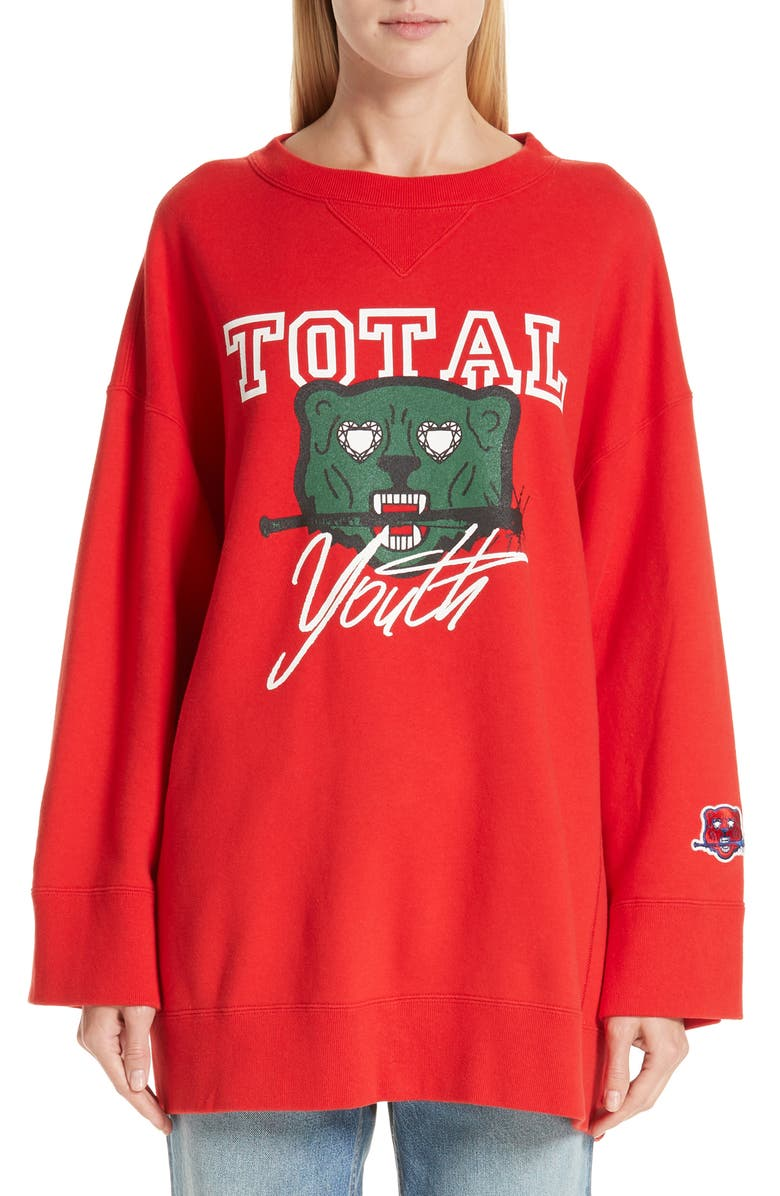 Undercover TOTAL YOUTH OVERSIZED SWEATSHIRT