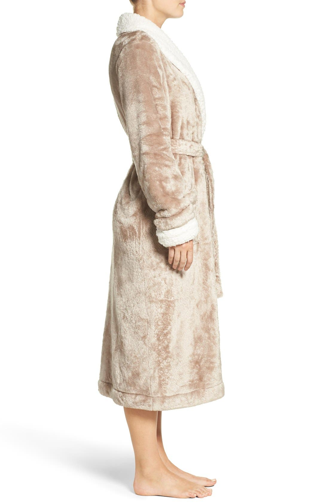 Frosted Plush Robe,                             Alternate thumbnail 20, color,