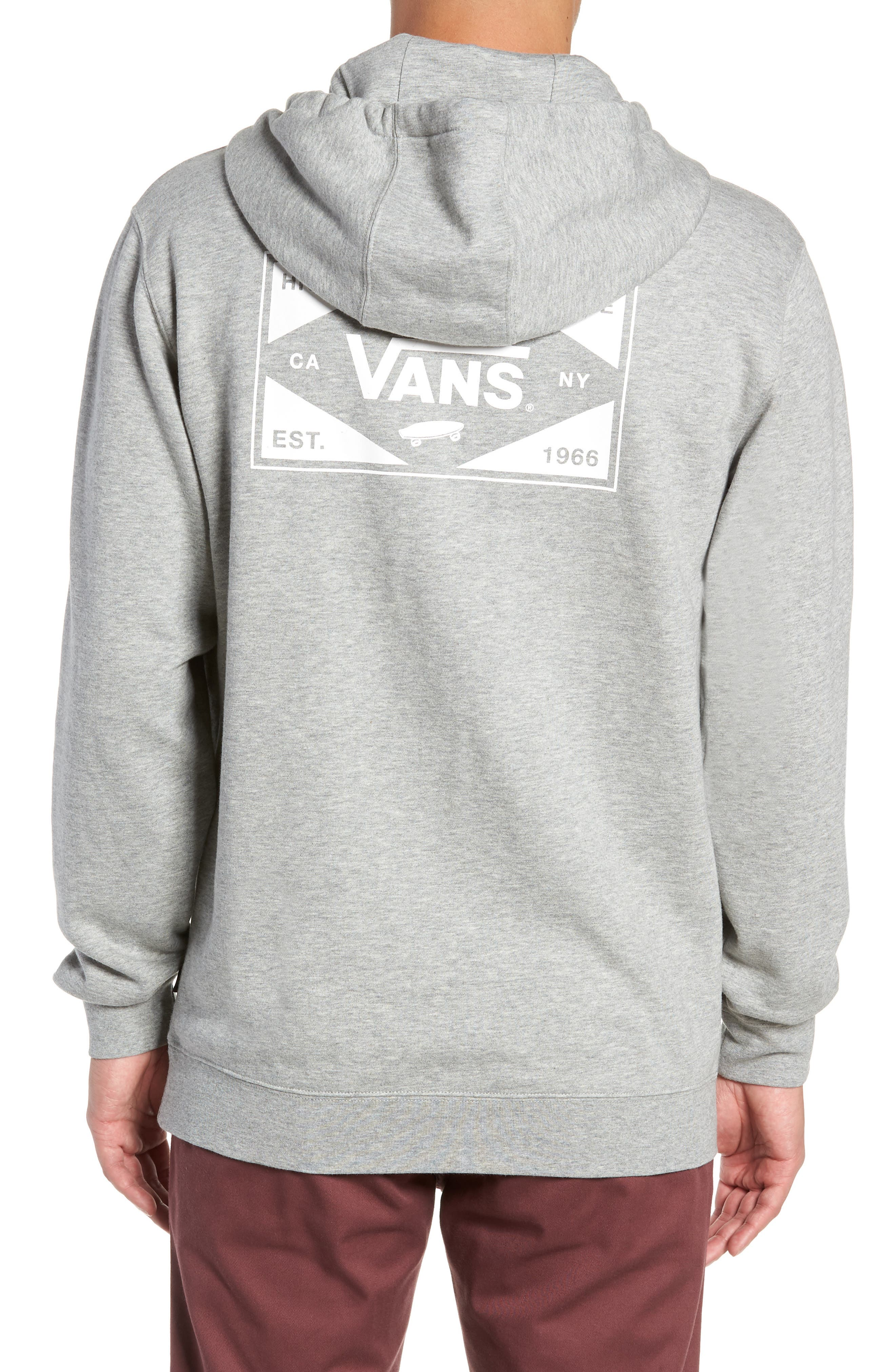Best in Class Hooded Sweatshirt,                             Alternate thumbnail 2, color,                             CEMENT HEATHER