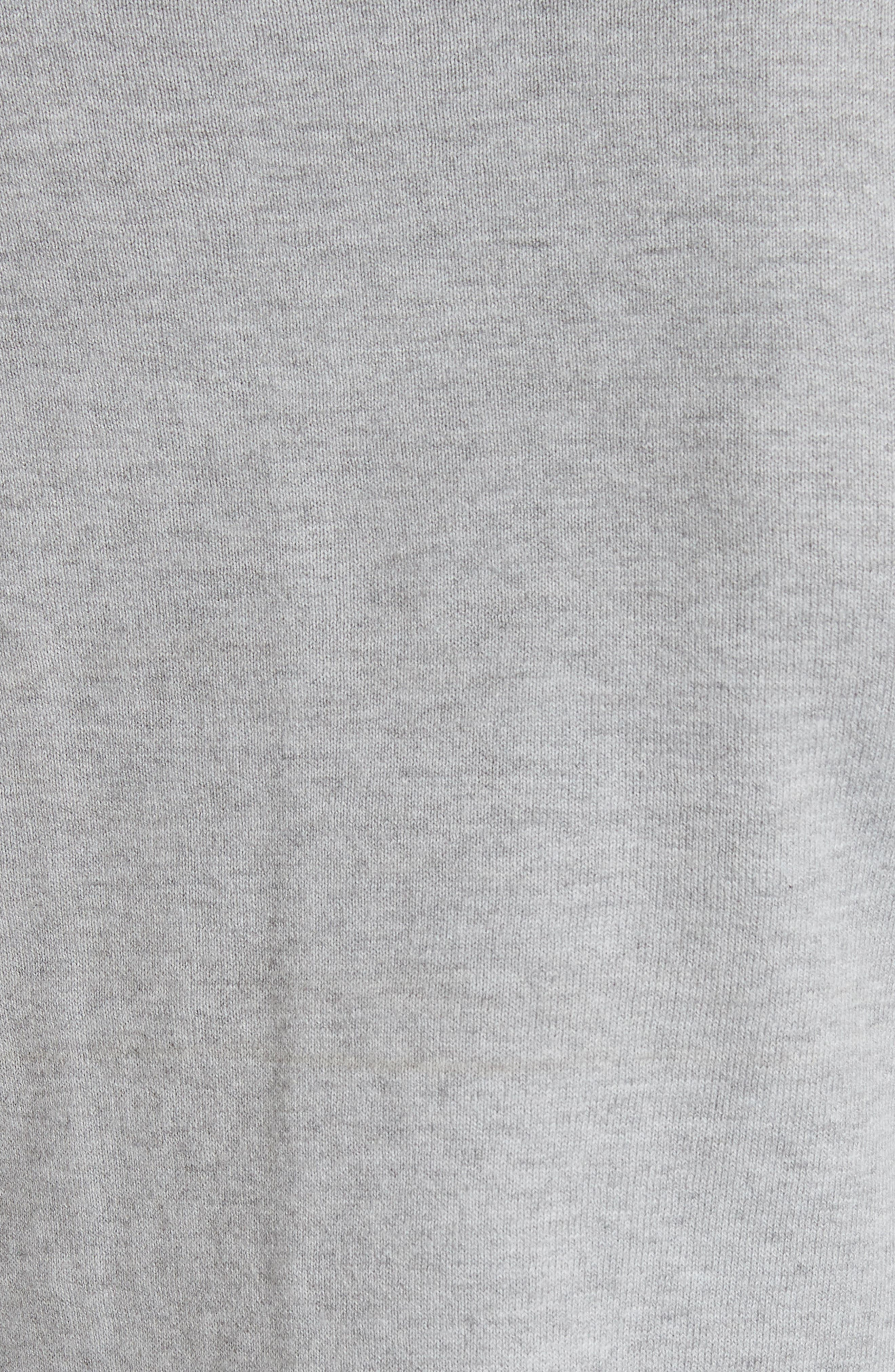 Versailles Jacquard Front Sweater,                             Alternate thumbnail 5, color,                             050