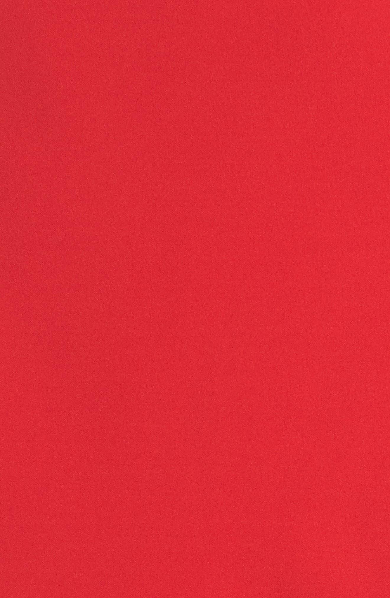 One-Shoulder Ruffle Dress,                             Alternate thumbnail 10, color,