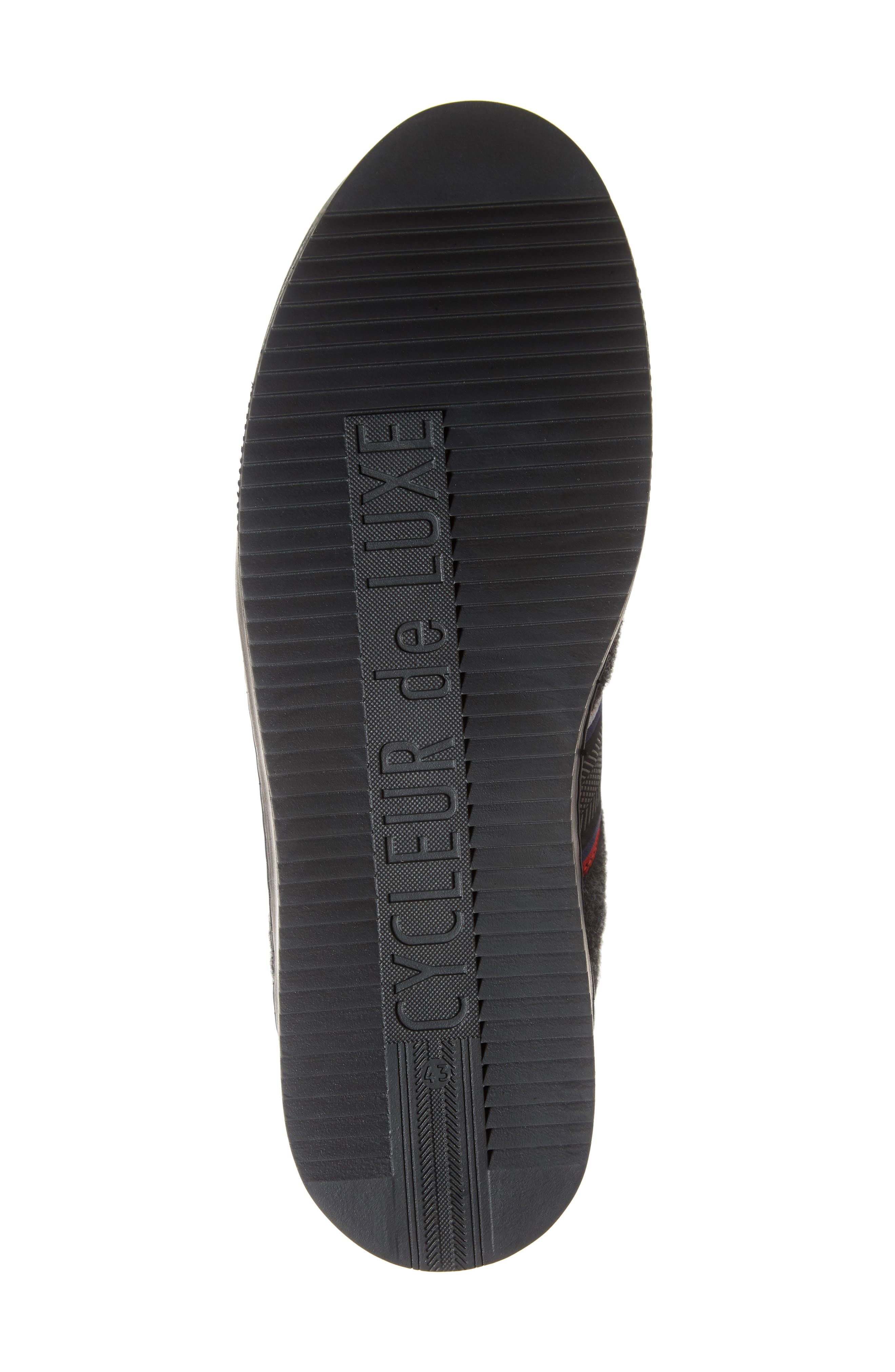 Poggio Sneaker,                             Alternate thumbnail 6, color,                             BLACK