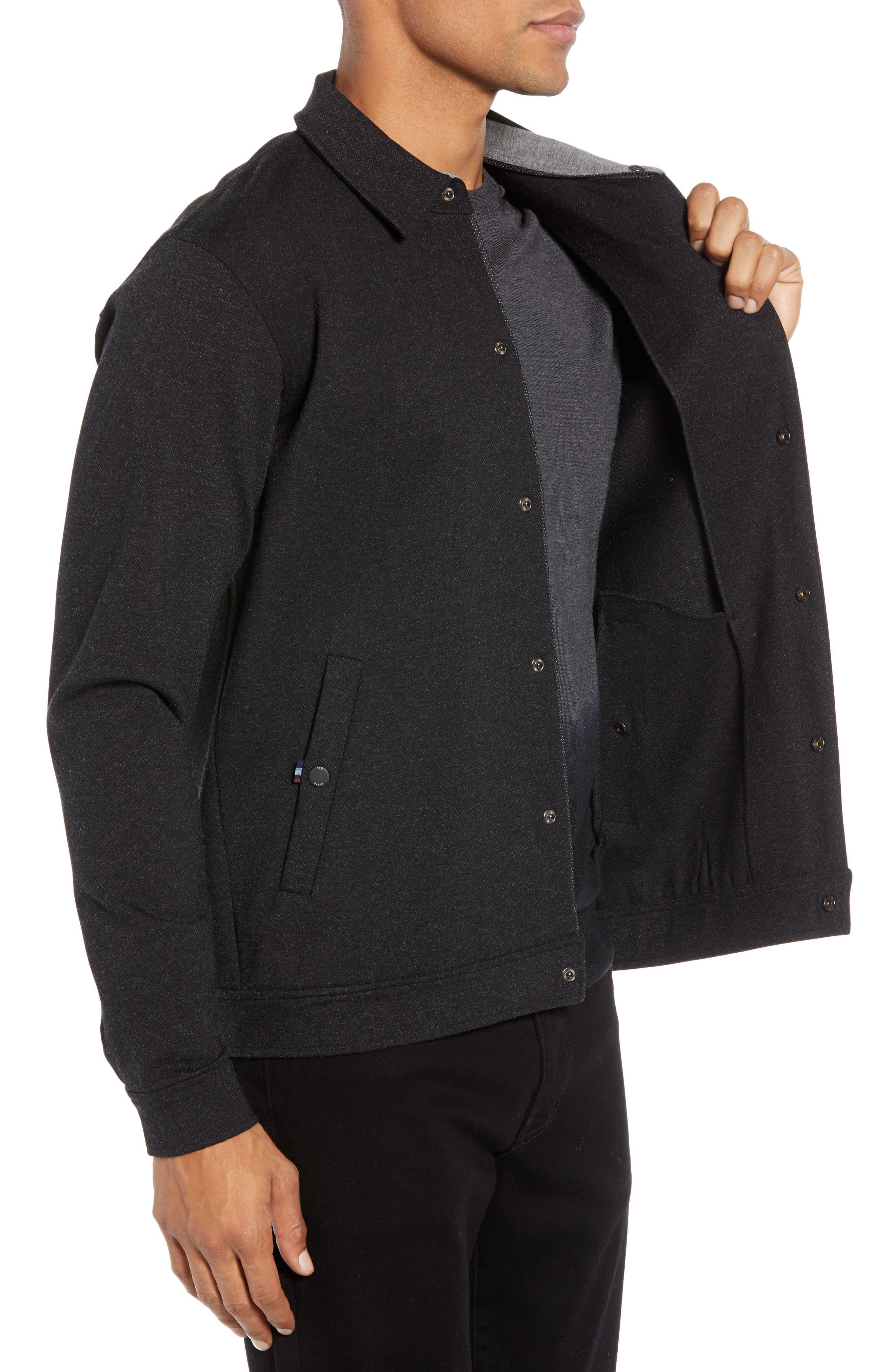 Flapjak Knit Shirt,                             Alternate thumbnail 3, color,                             BLACK