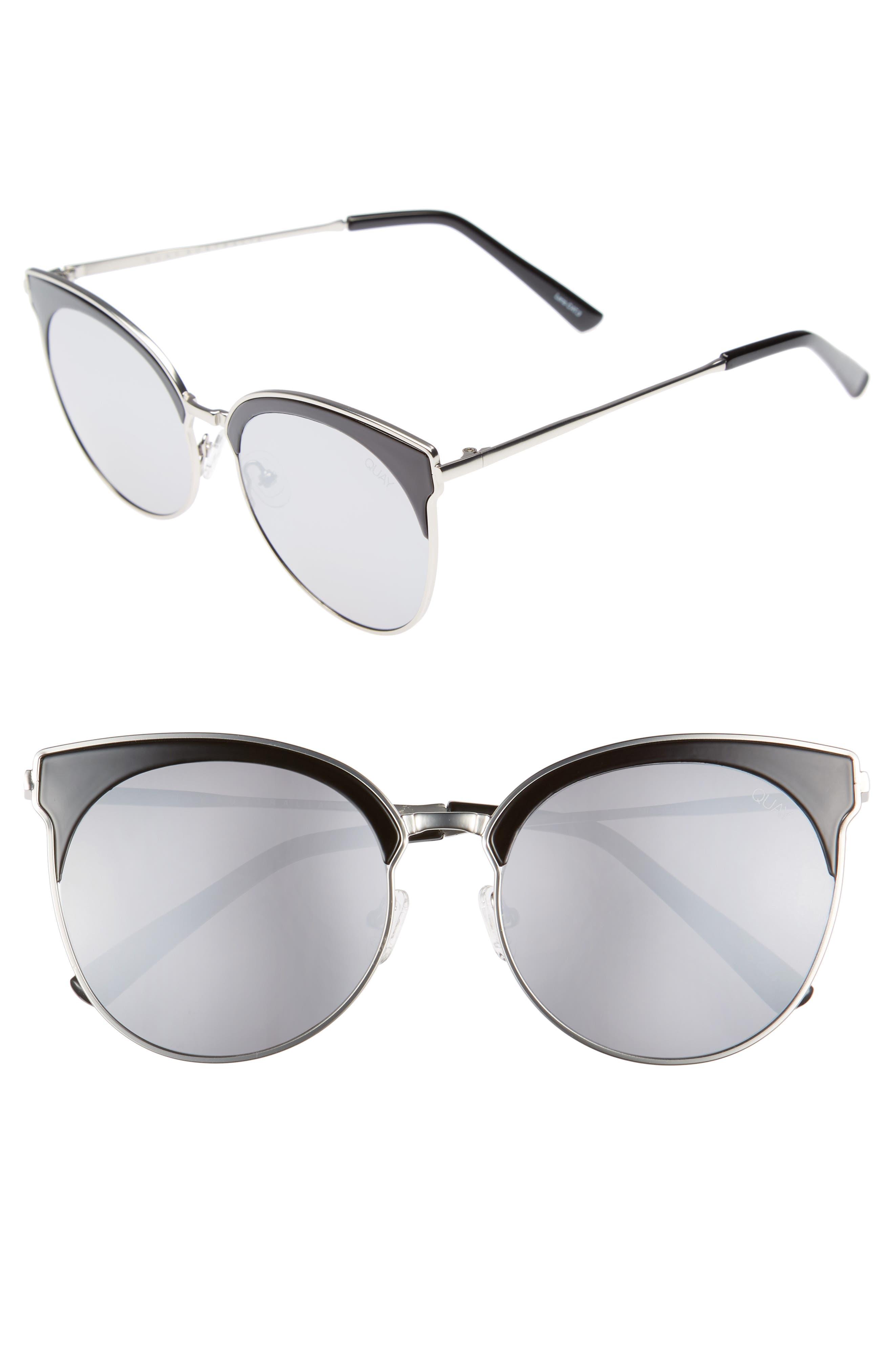 Mia Bella 56mm Sunglasses,                             Main thumbnail 1, color,                             001